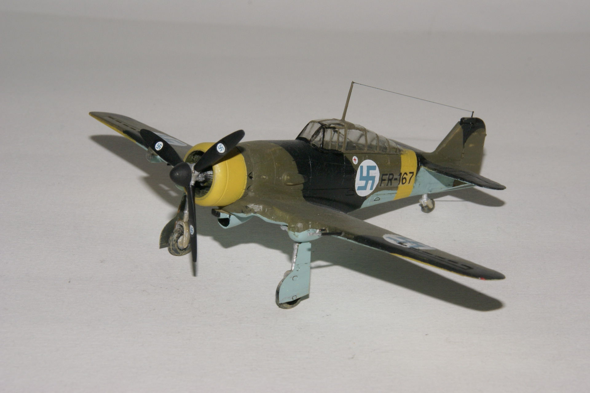 Fokker d xxi series 4 modified 1