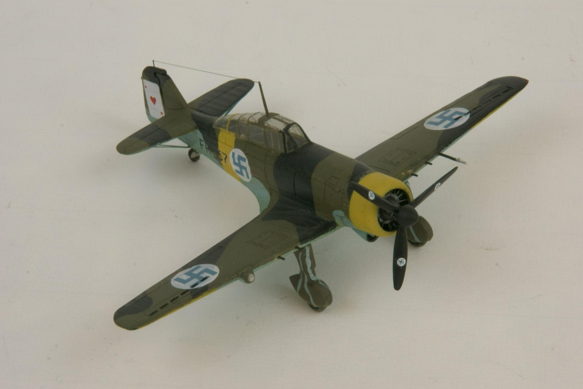 Fokker d xxi twin wasp series 4 1