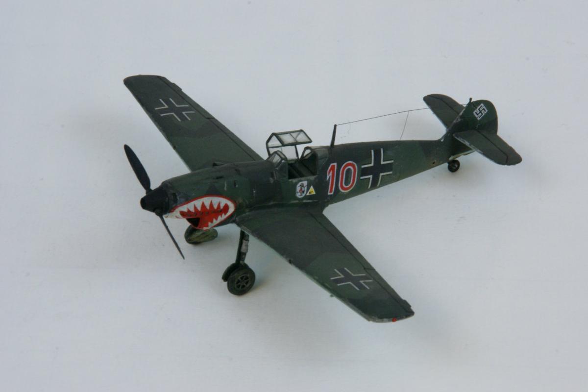 Messerschmitt 109c 1 7