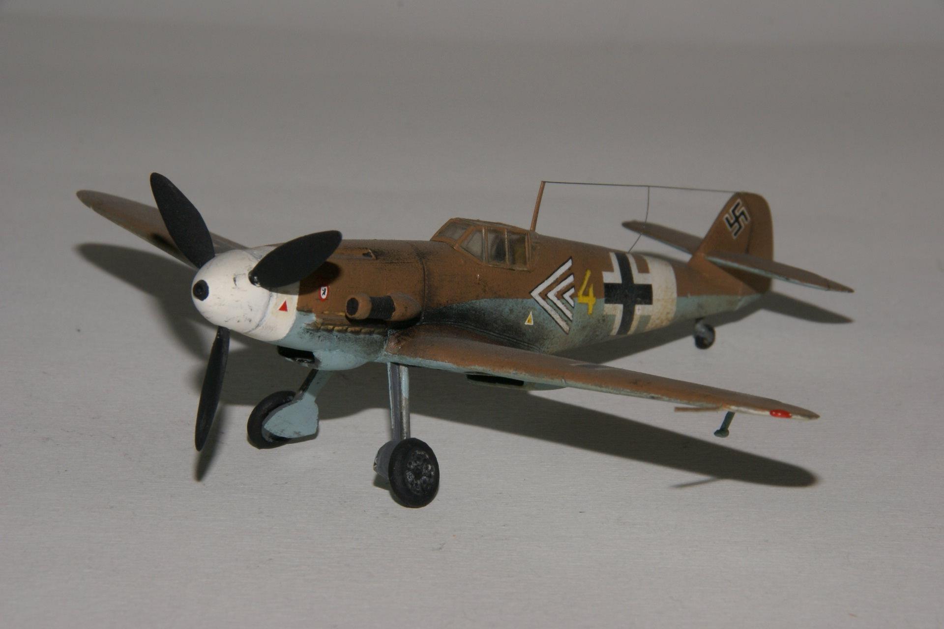 Messerschmitt 109g 4 trop 1