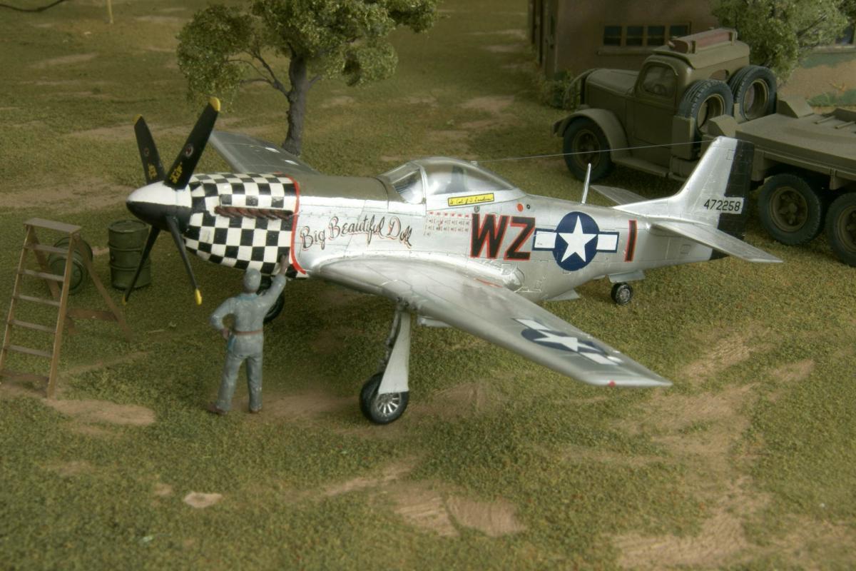 North american p 51d england 1944 2