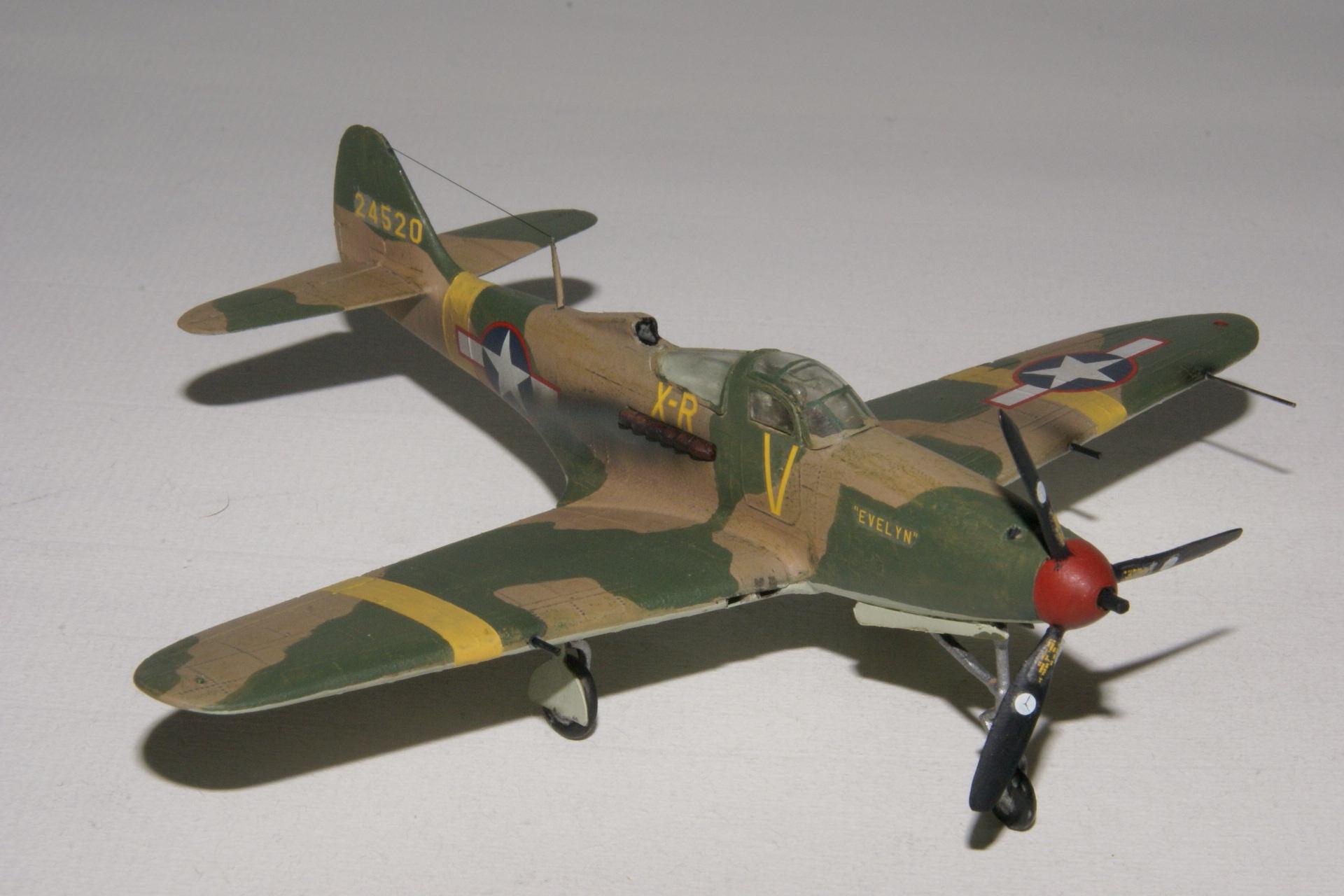 Bell p 39l airacobra 1 2