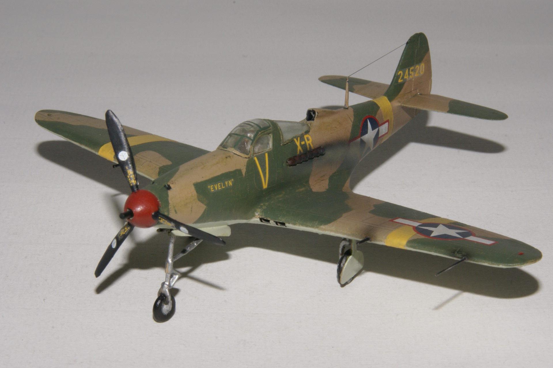 Bell p 39l airacobra 4 2