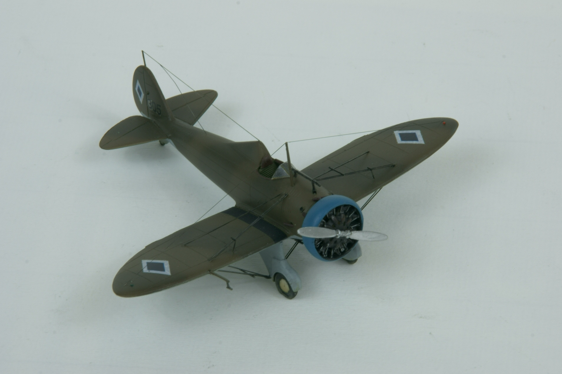 Boeing p 26a peashooter 9