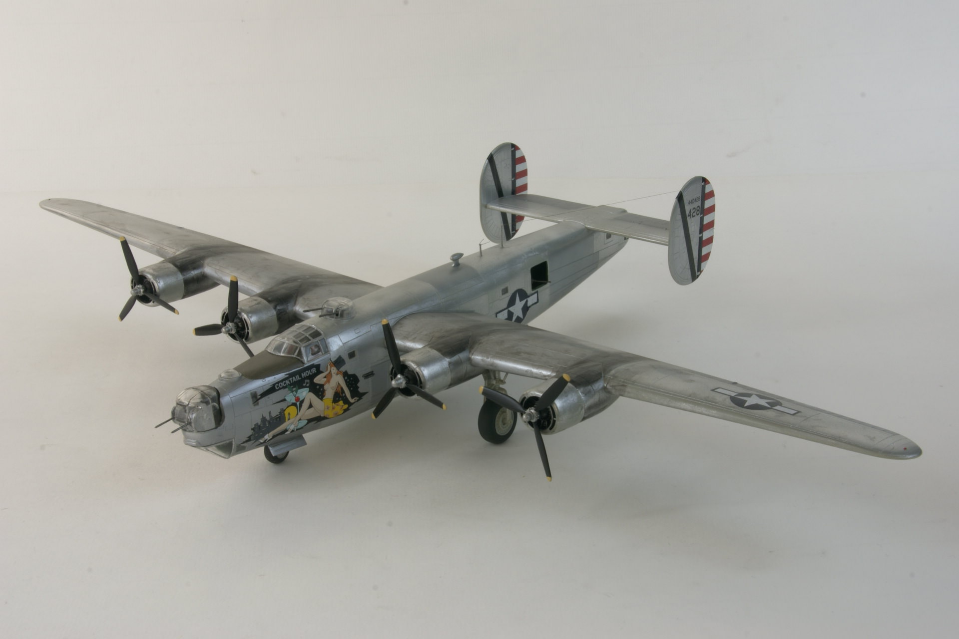 Consolidated b 24j liberator 4 2