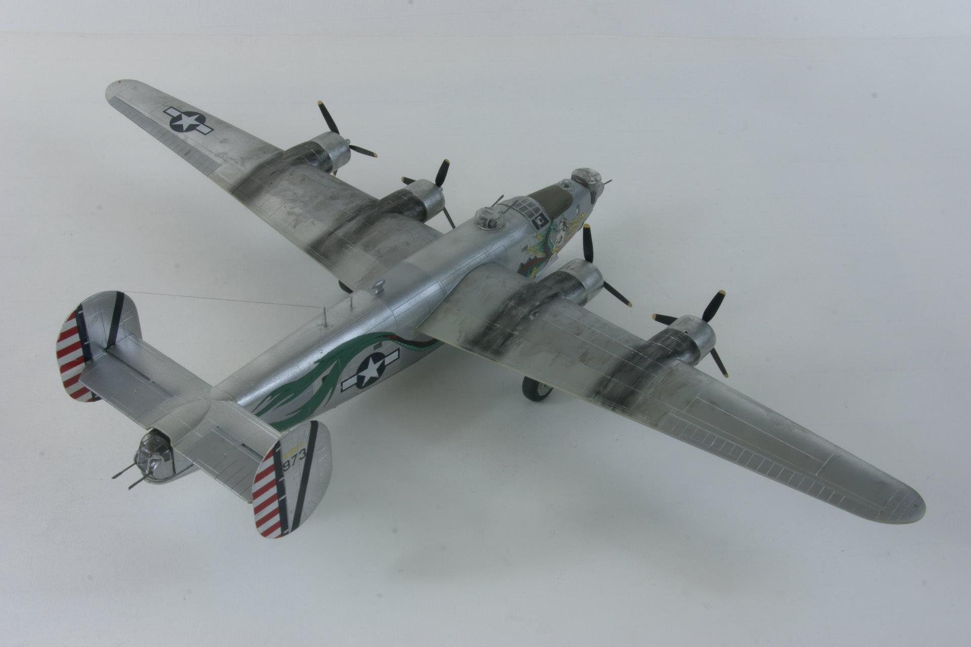 Consolidated b 24j liberator 6 2