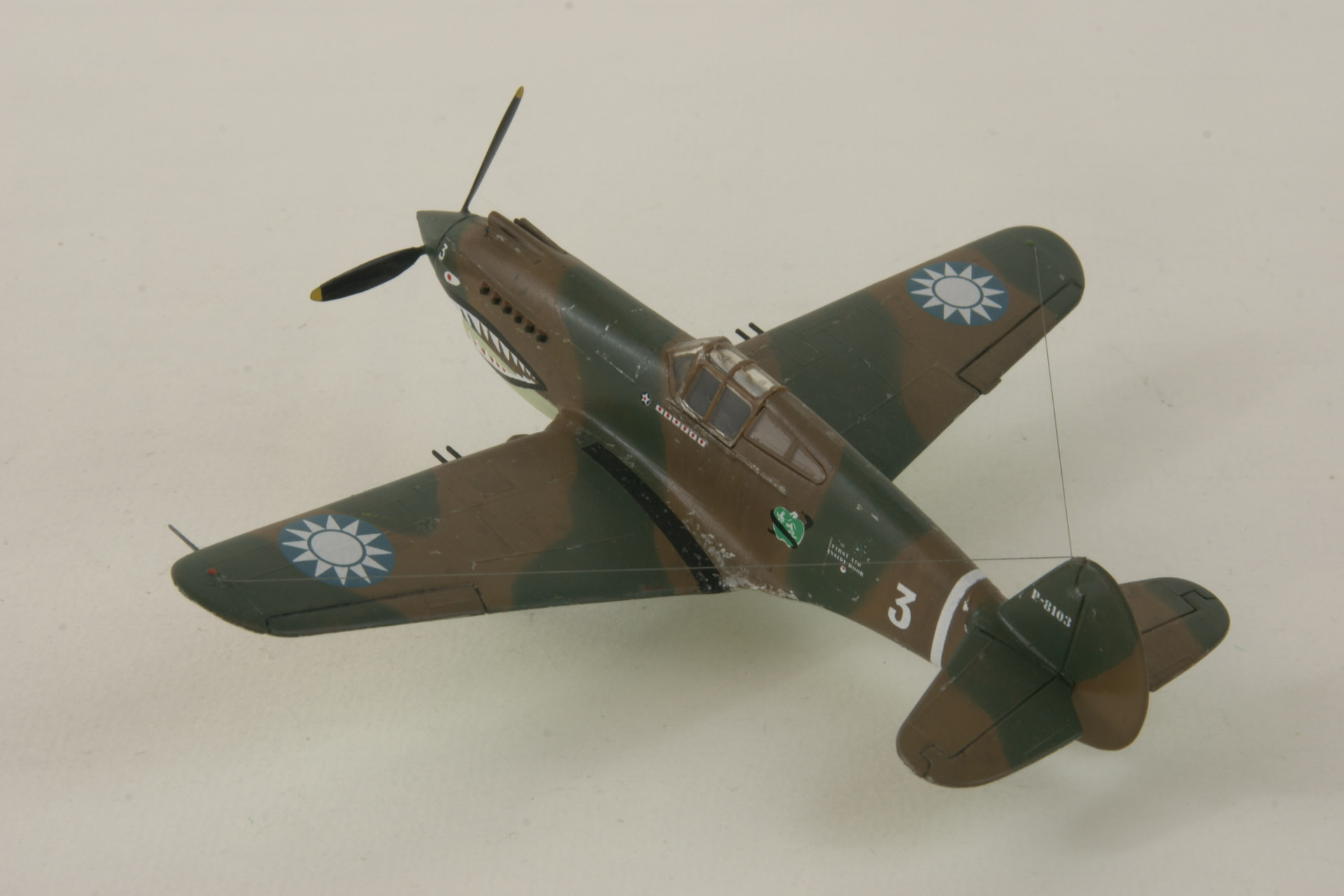 Curtiss p 40c 6 1