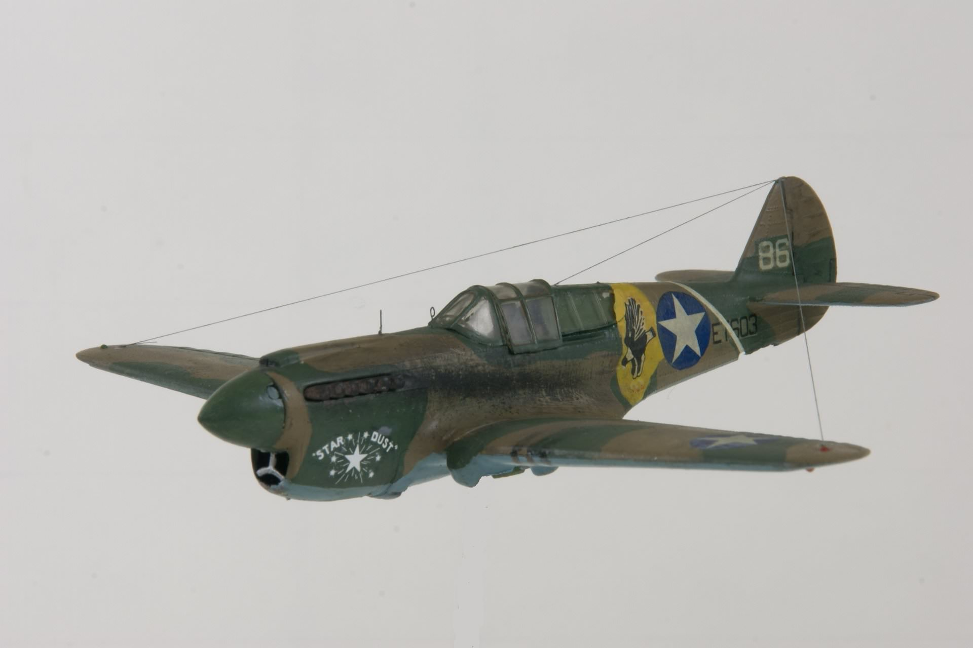 Curtiss p 40e warhawk 1 1