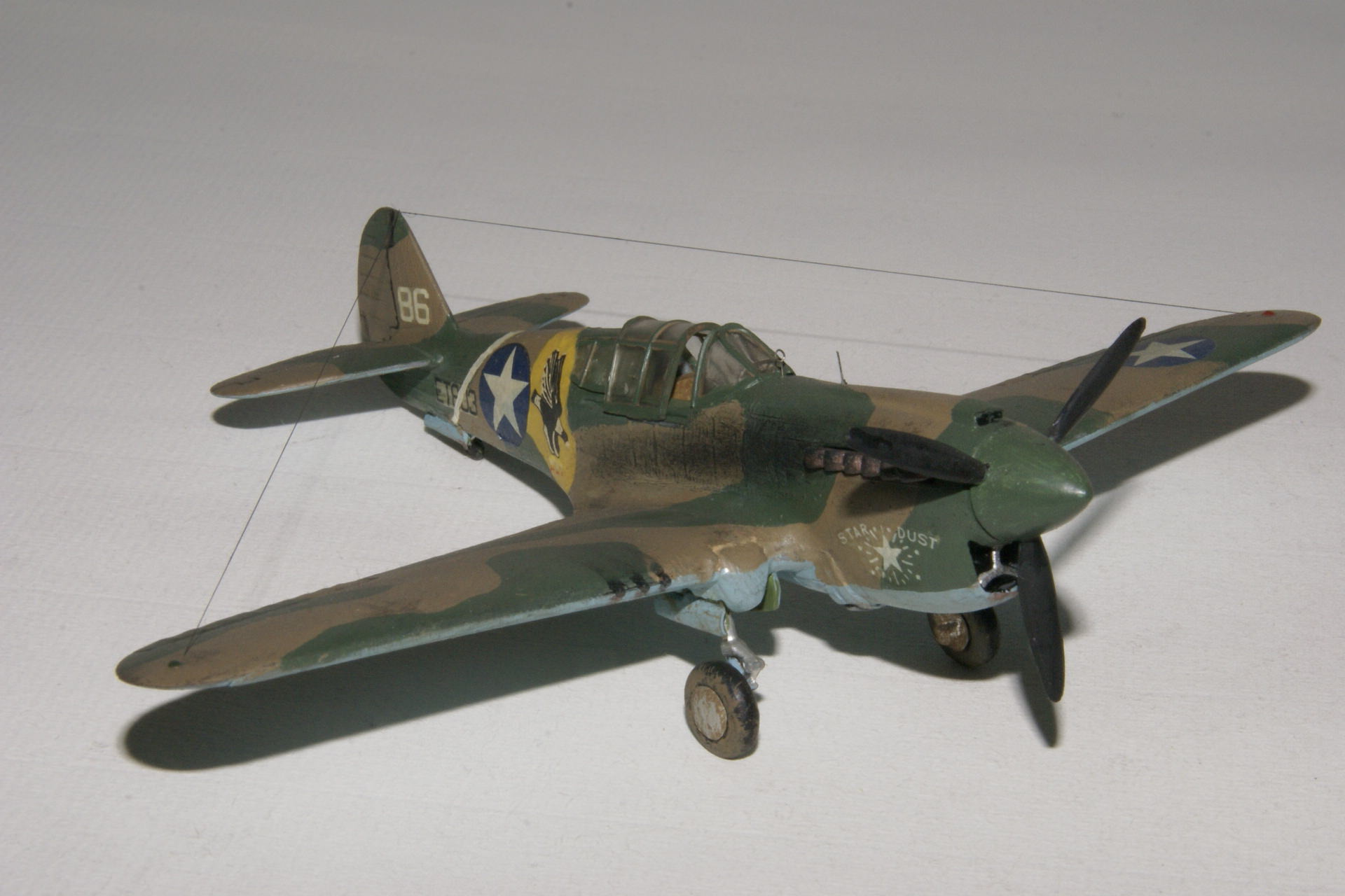 Curtiss p 40e warhawk 1 2