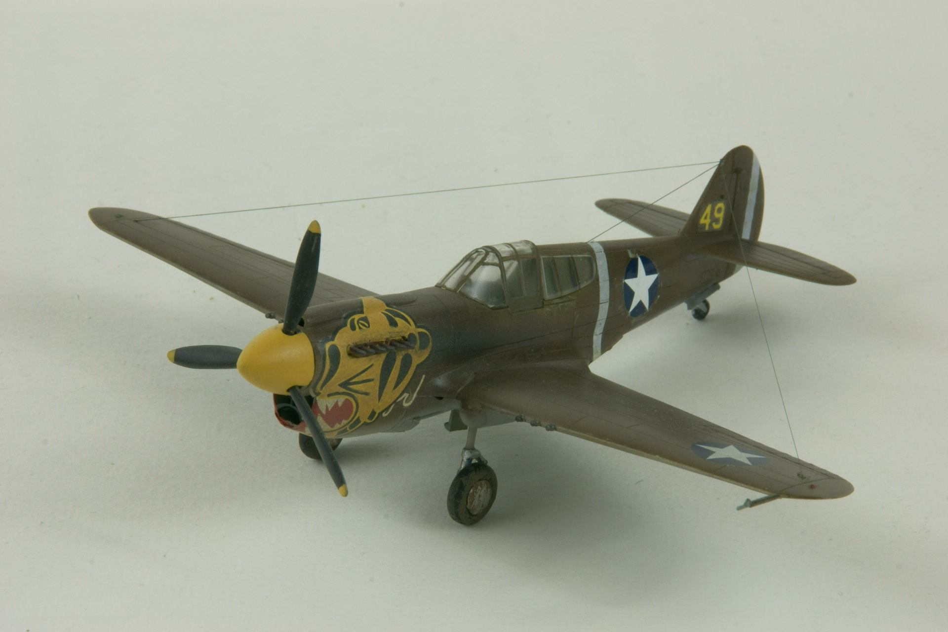 Curtiss p 40e warhawk 1
