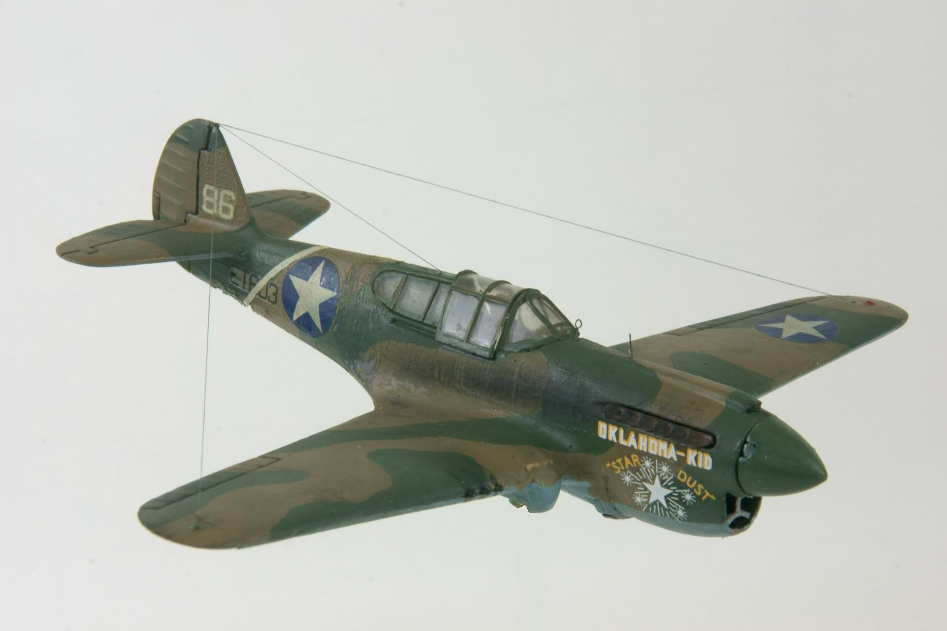 Curtiss p 40e warhawk 3 3