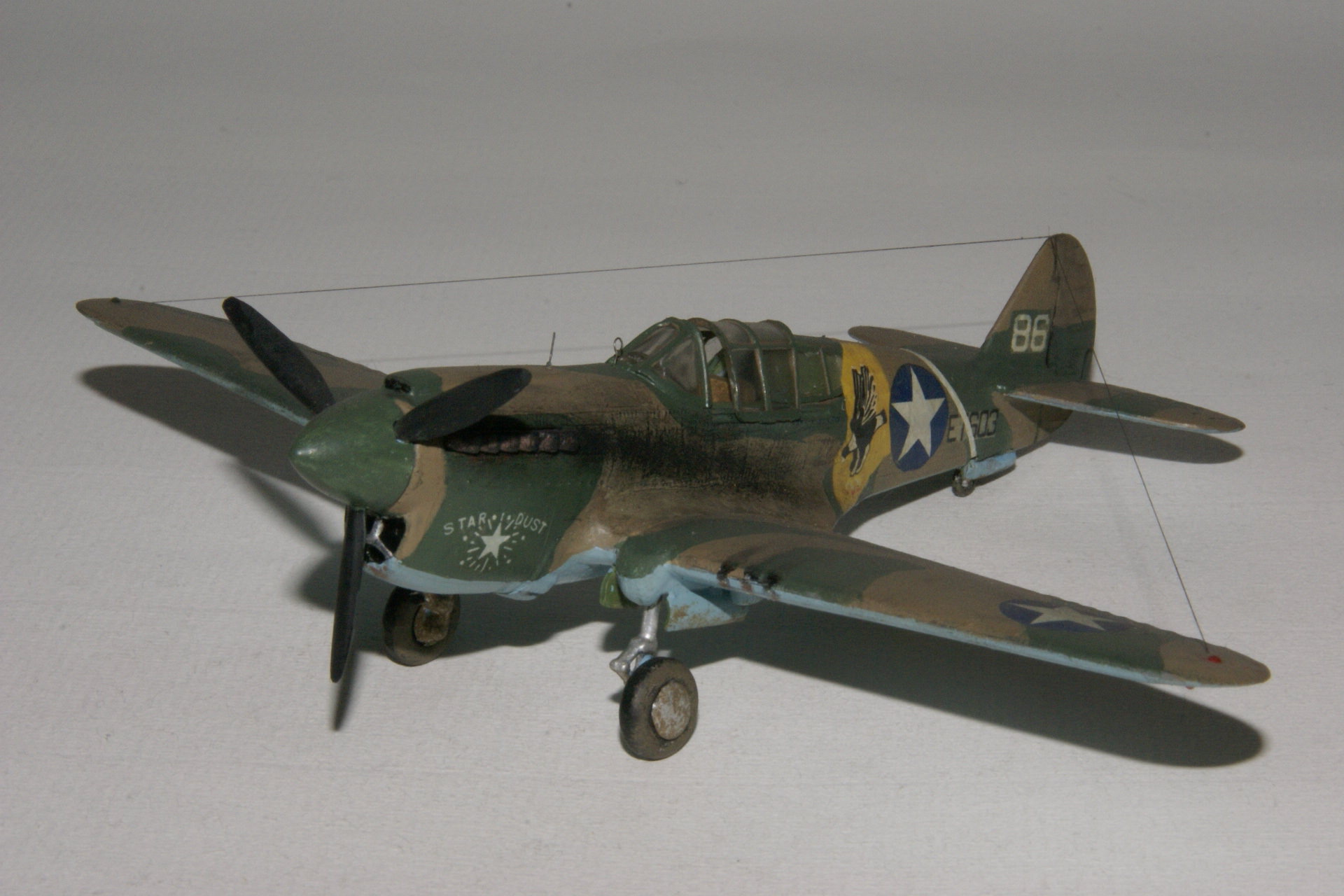 Curtiss p 40e warhawk 4 2