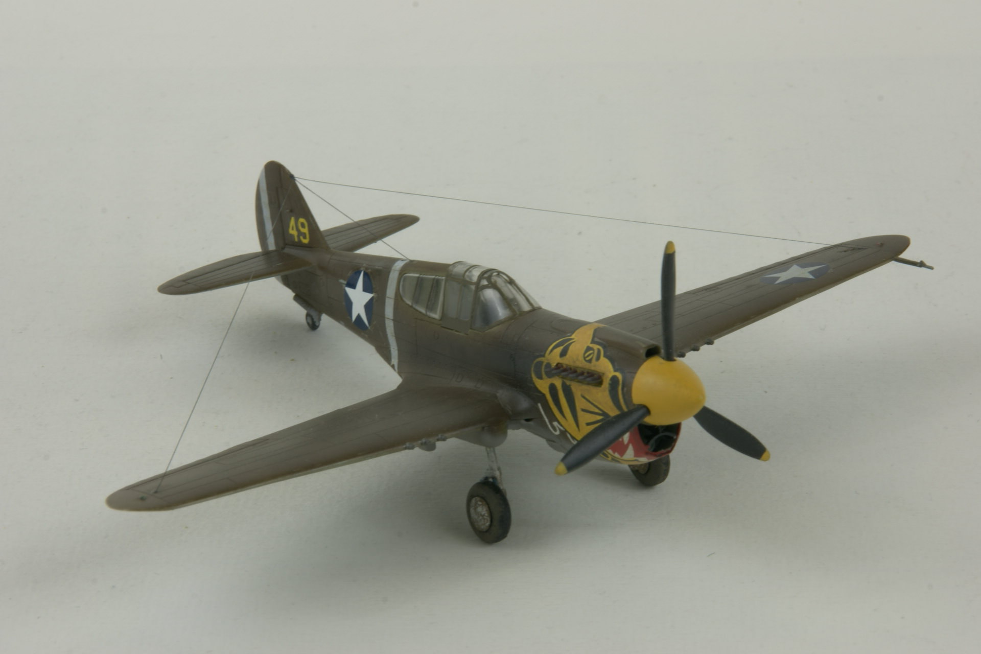 Curtiss p 40e warhawk 4 3