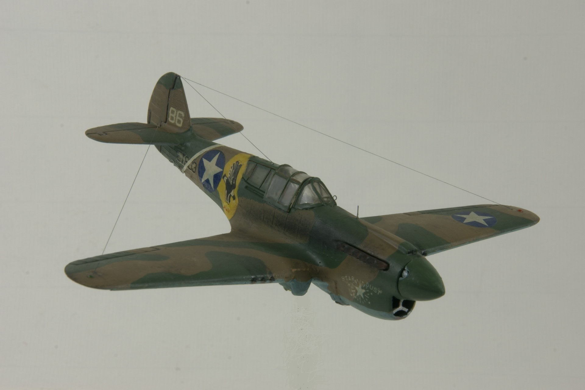 Curtiss p 40e warhawk 4