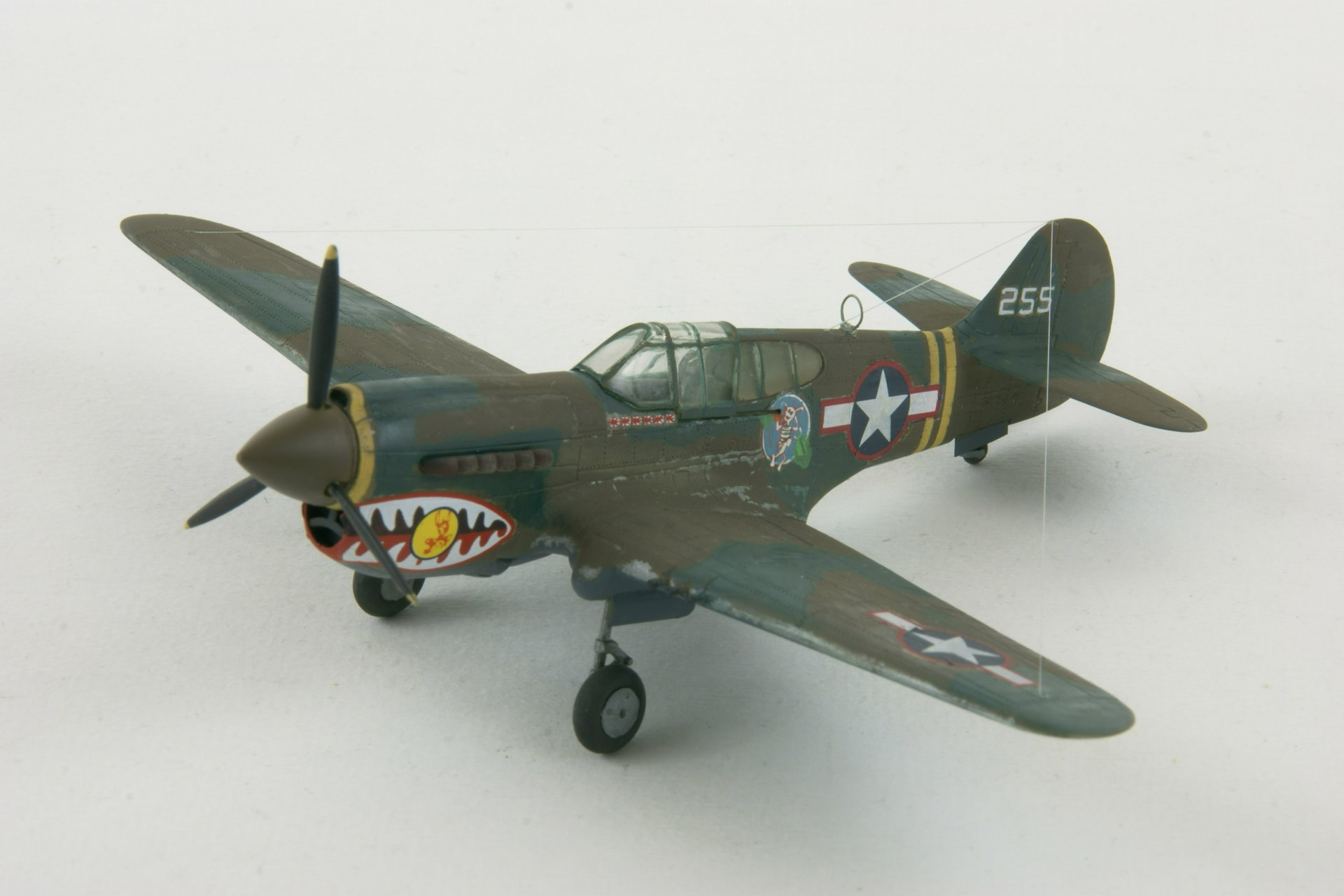 Curtiss p 40k warhawk 2