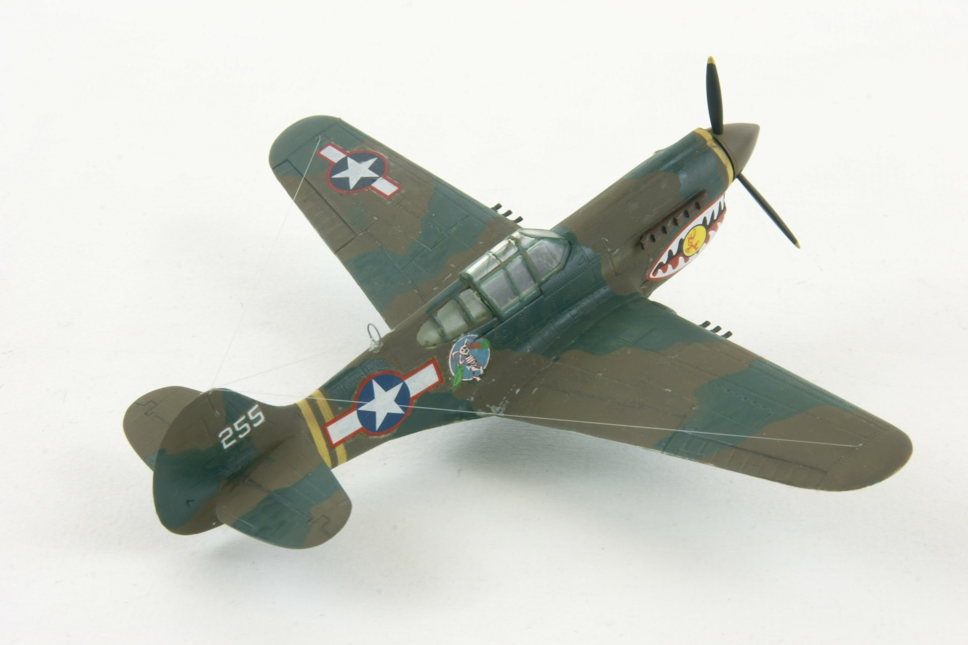 Curtiss p 40k warhawk 3