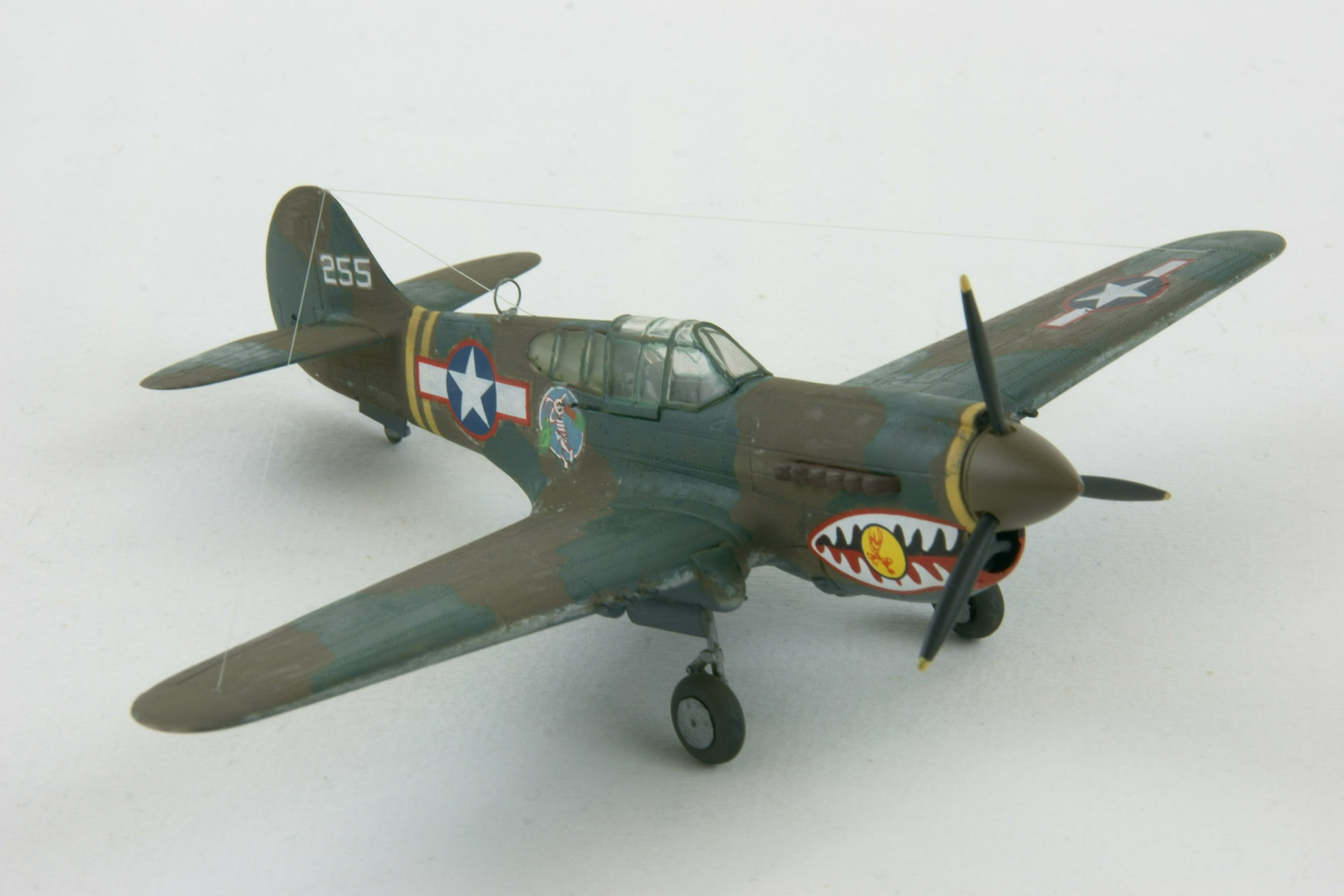 Curtiss p 40k warhawk 4