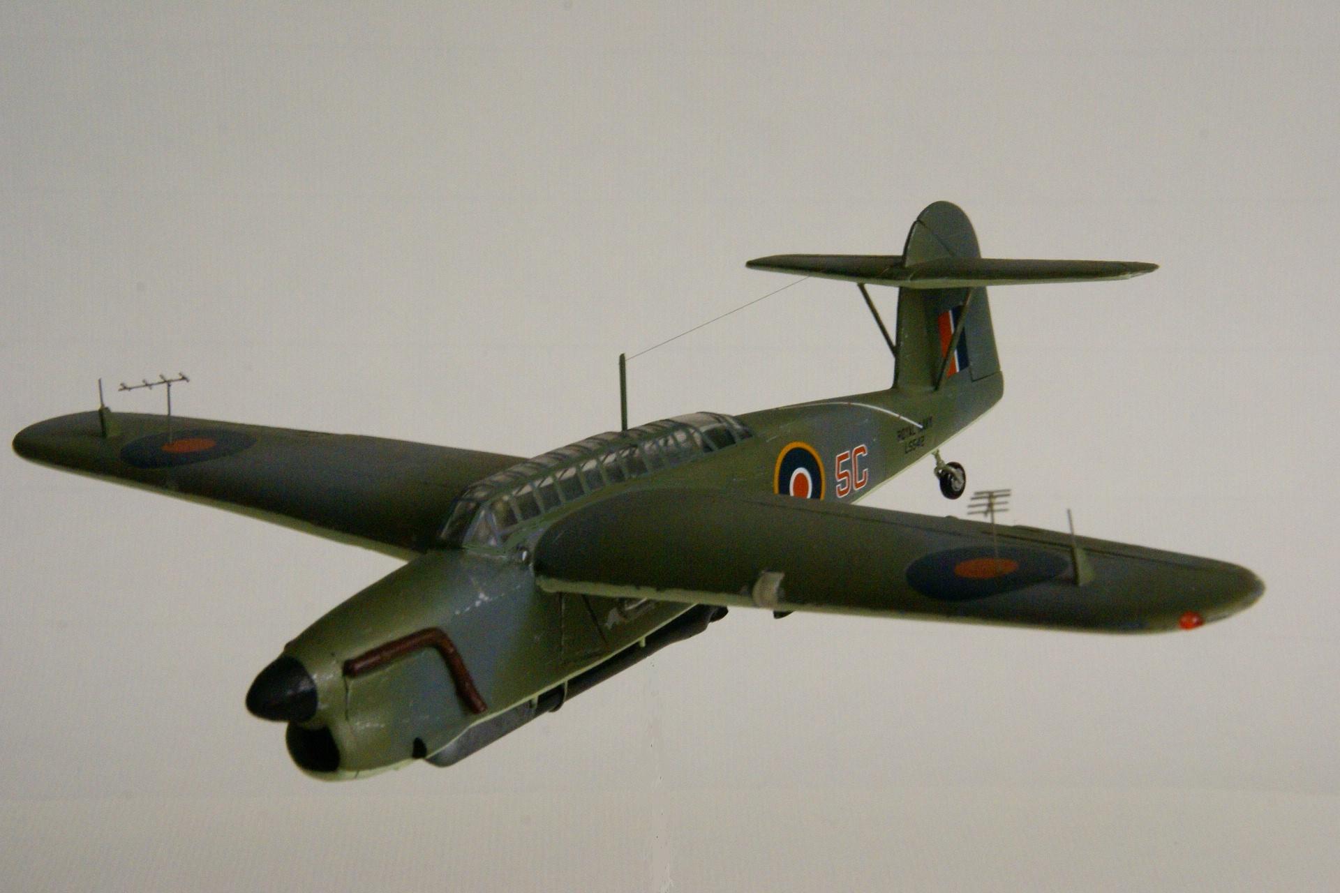 Fairey barracuda tb ii en vol 1