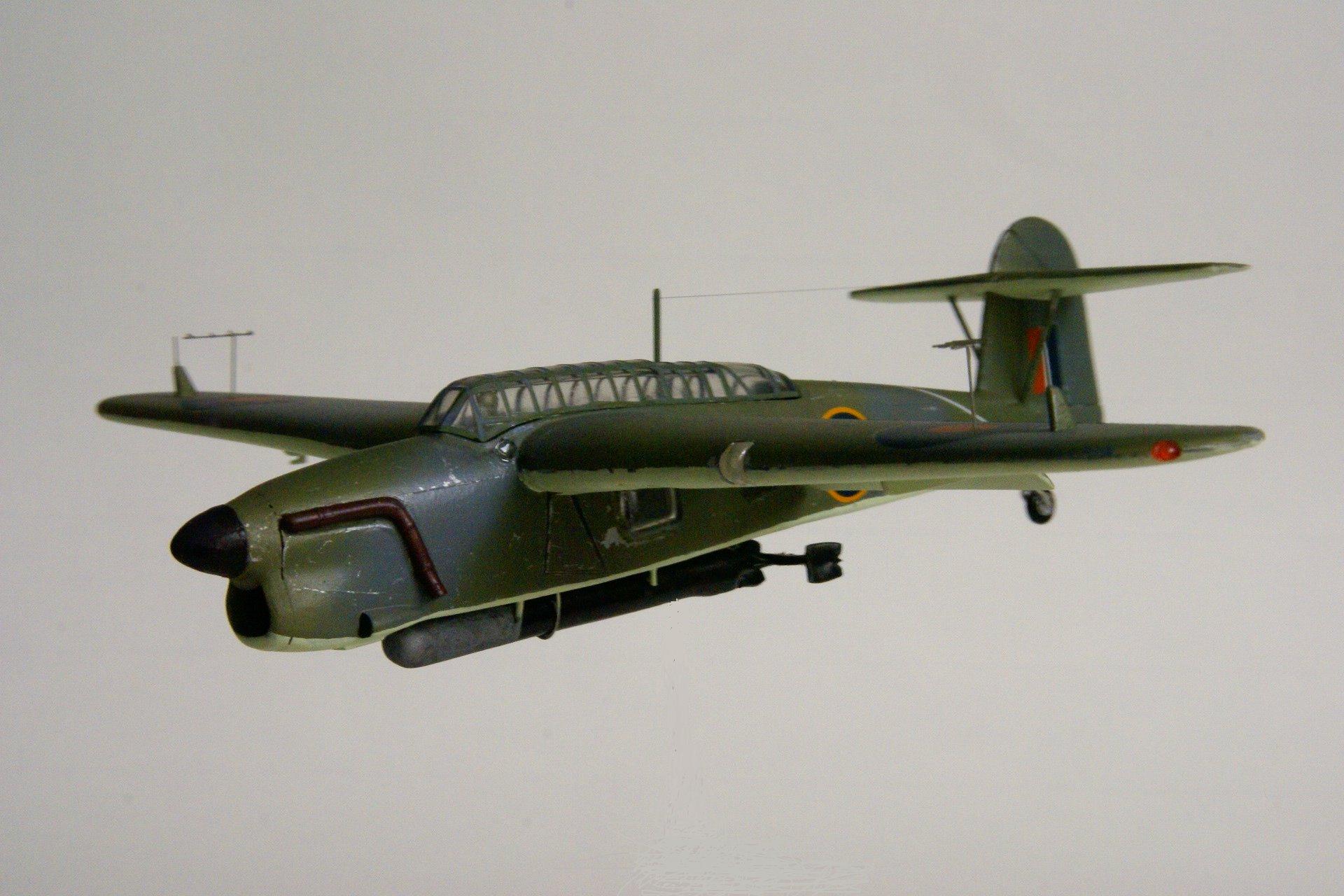 Fairey barracuda tb ii en vol 4 vol