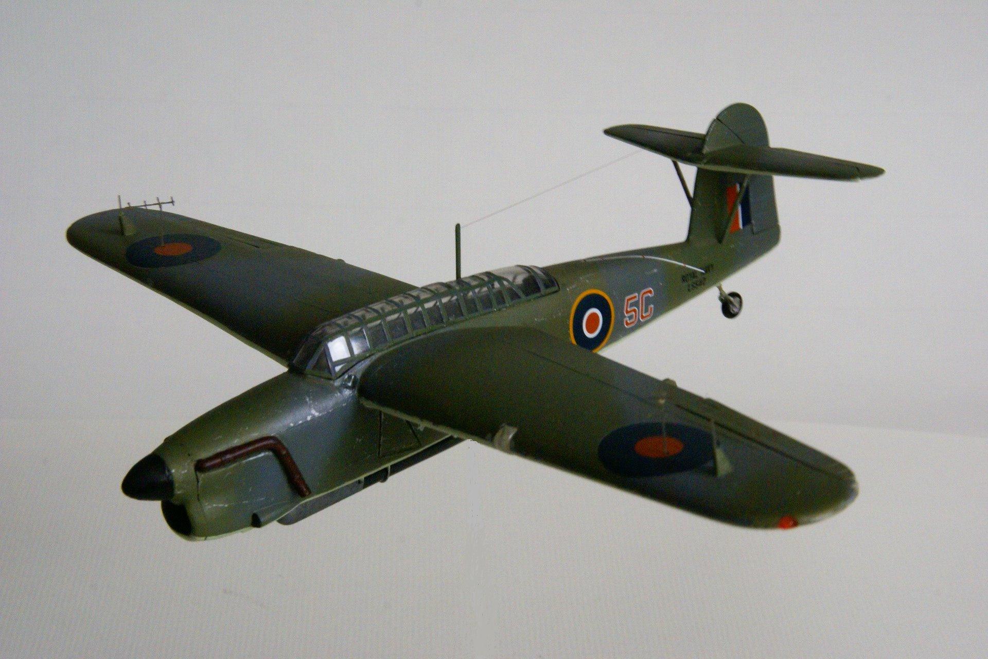 Fairey barracuda tb ii en vol 5 vol