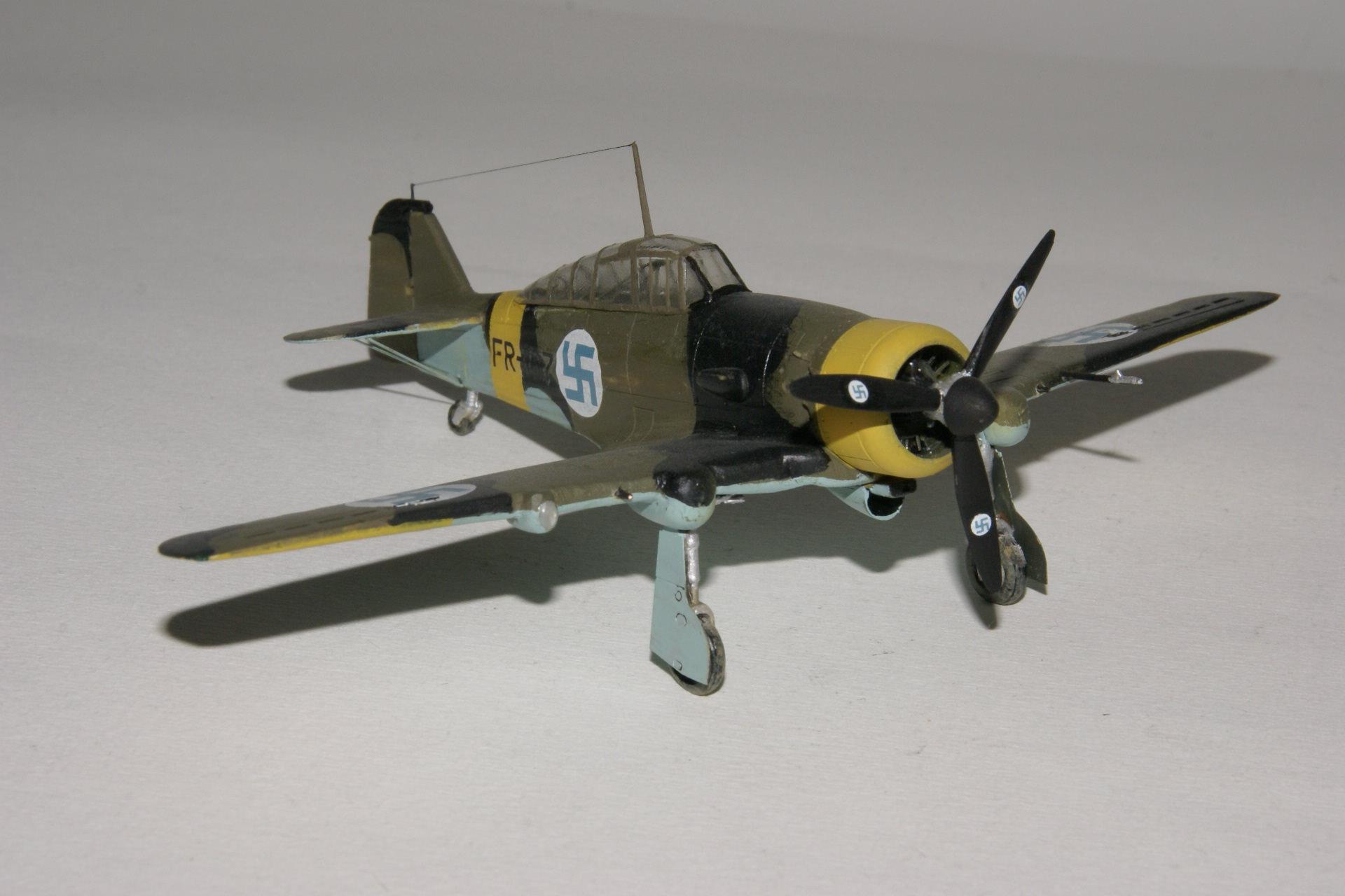 Fokker d xxi series 4 modified 2