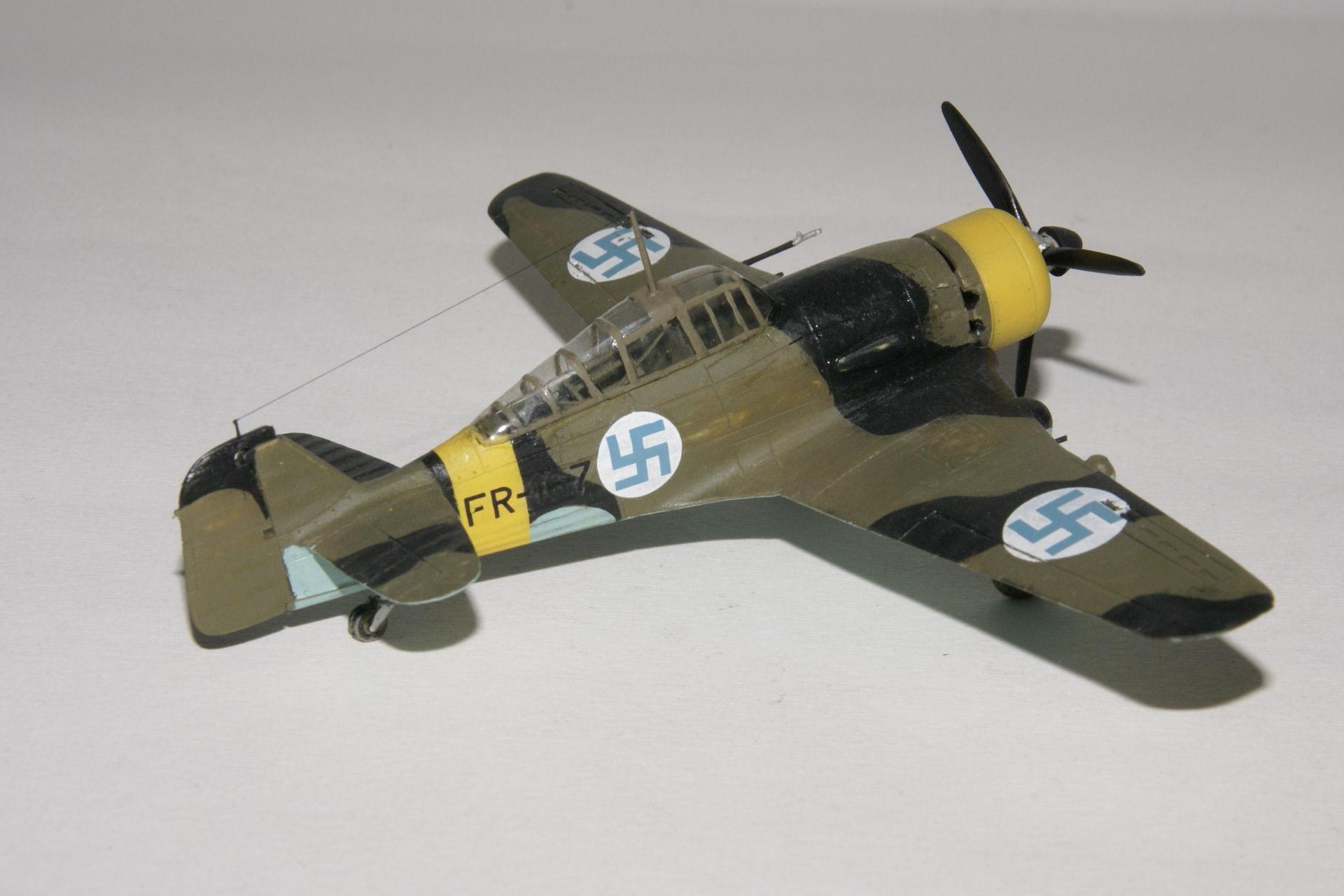 Fokker d xxi series 4 modified 3