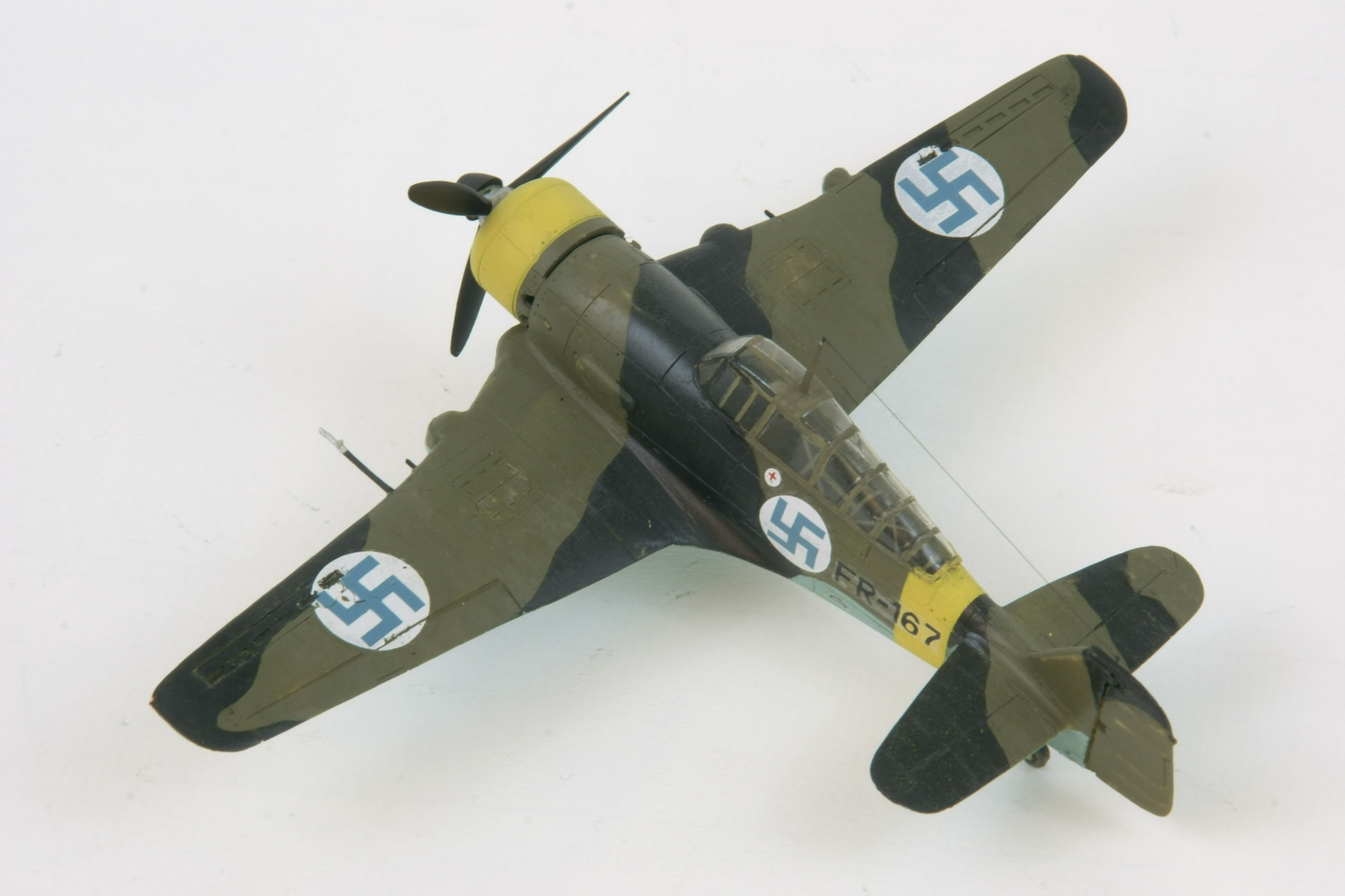 Fokker d xxi series 4 modified 4