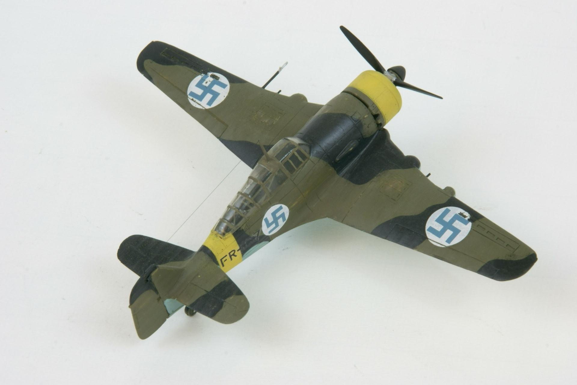 Fokker d xxi series 4 modified 5