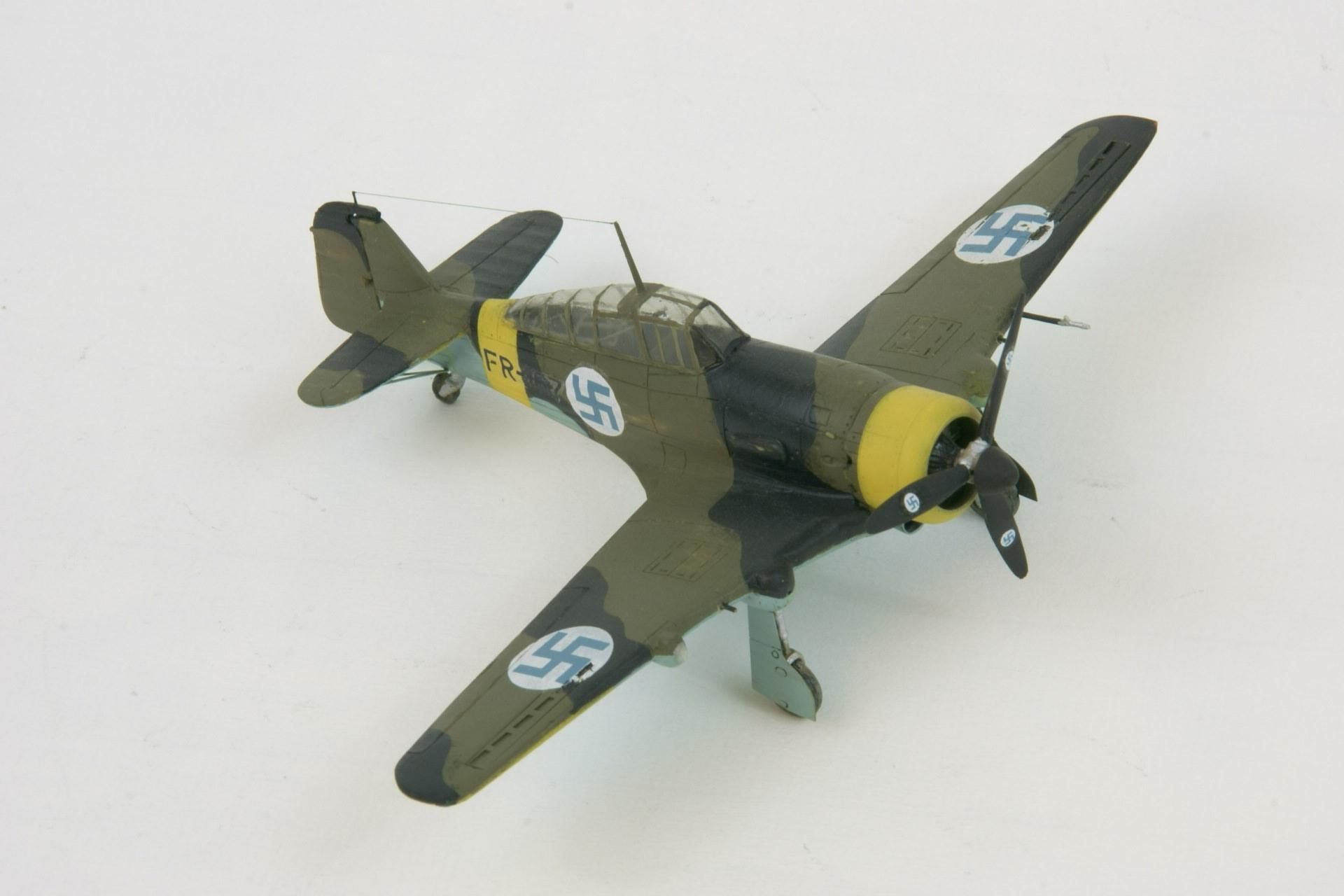 Fokker d xxi series 4 modified 6