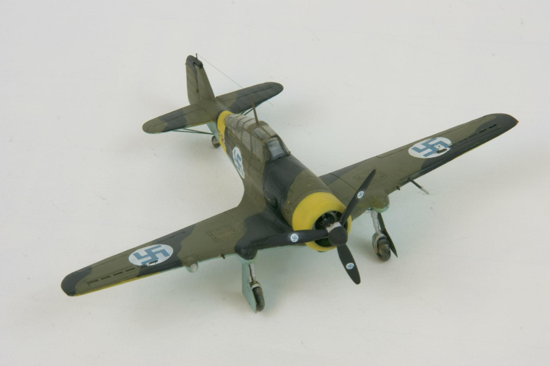 Fokker d xxi series 4 modified 7