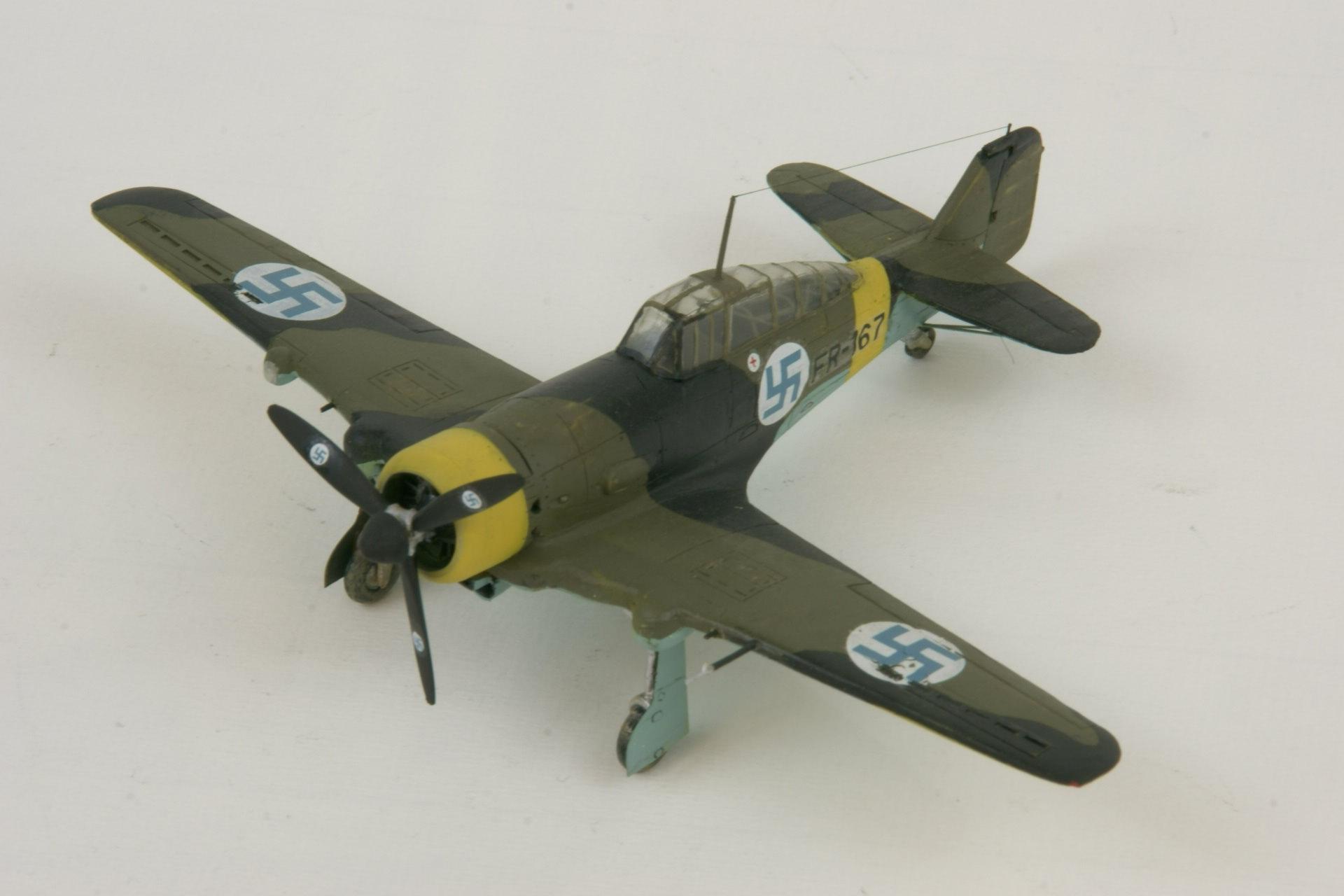Fokker d xxi series 4 modified 8