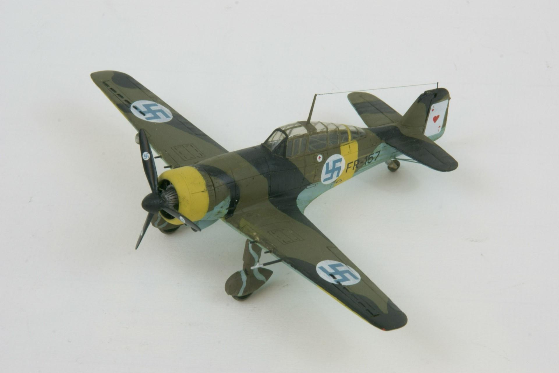 Fokker d xxi twin wasp series 4 2