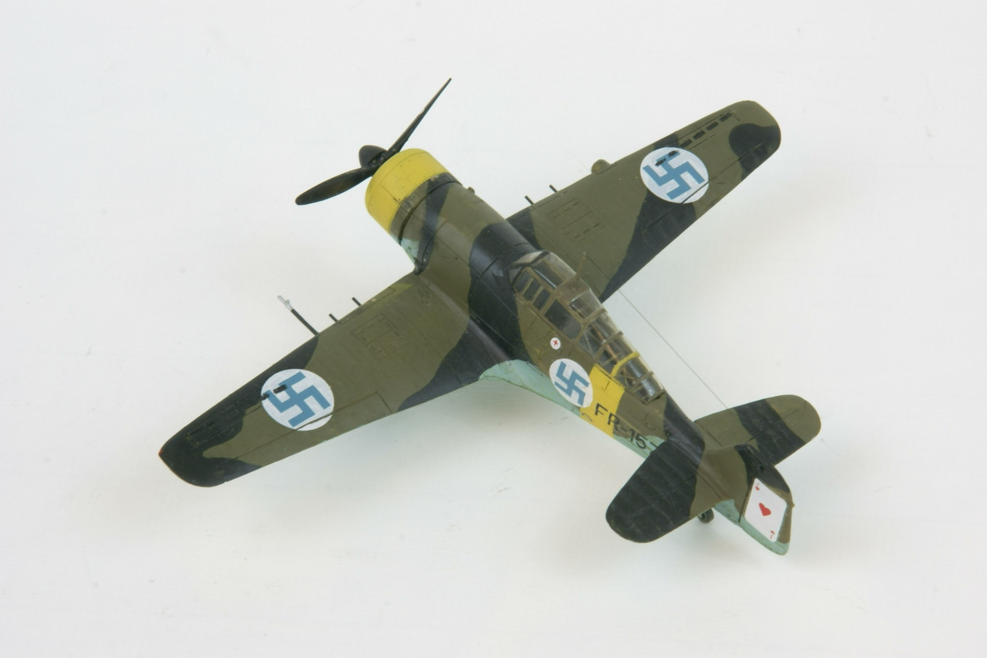 Fokker d xxi twin wasp series 4 3