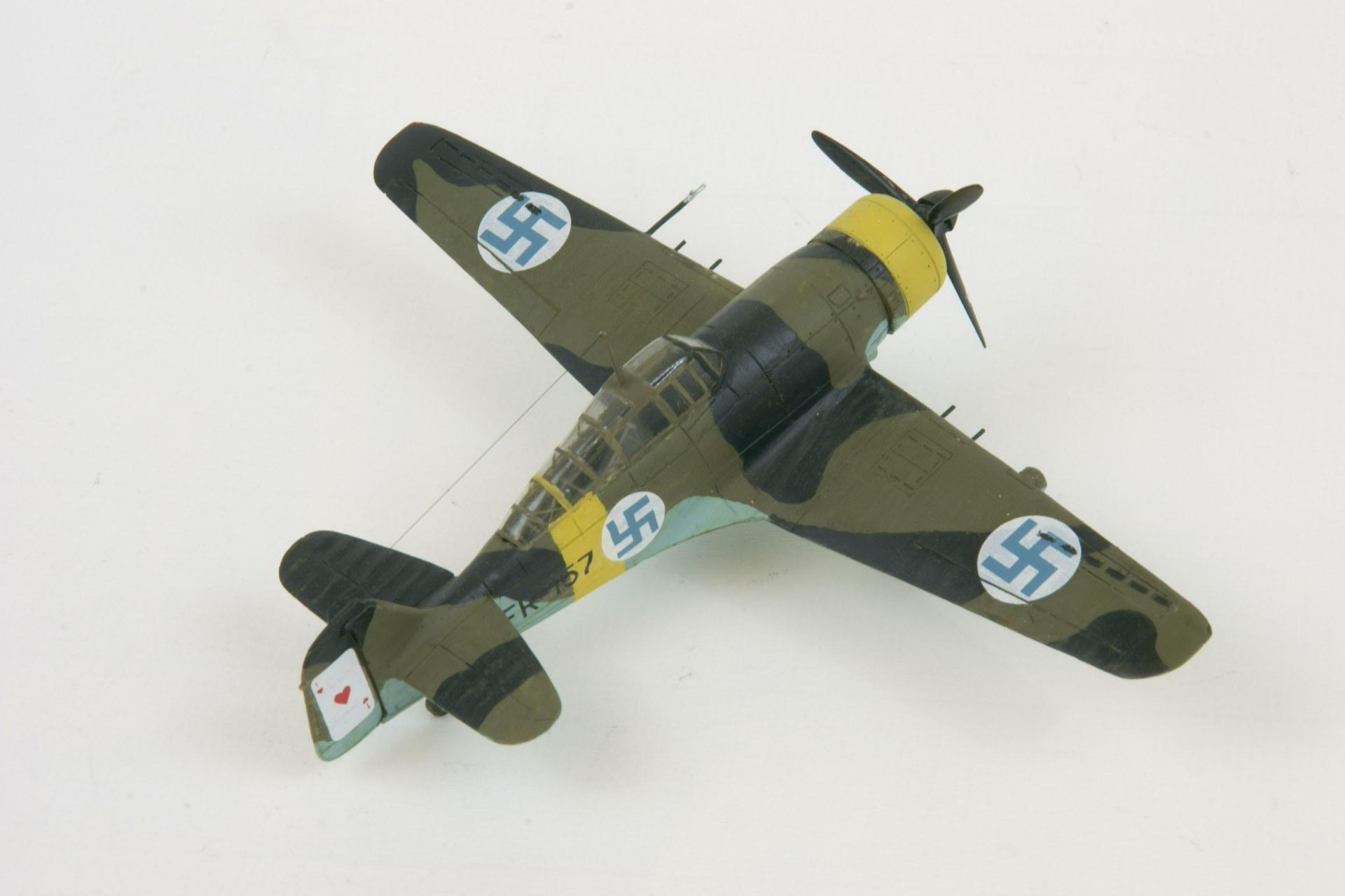 Fokker d xxi twin wasp series 4 4