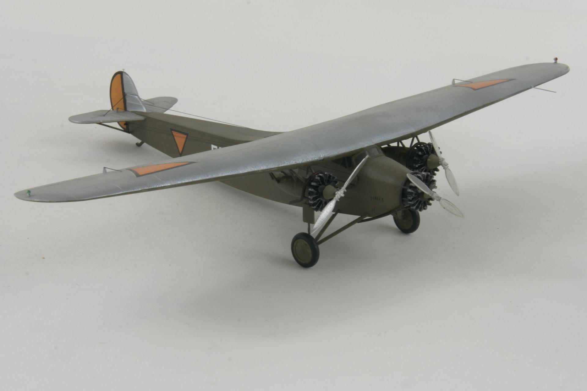 Fokker f viia 5 2