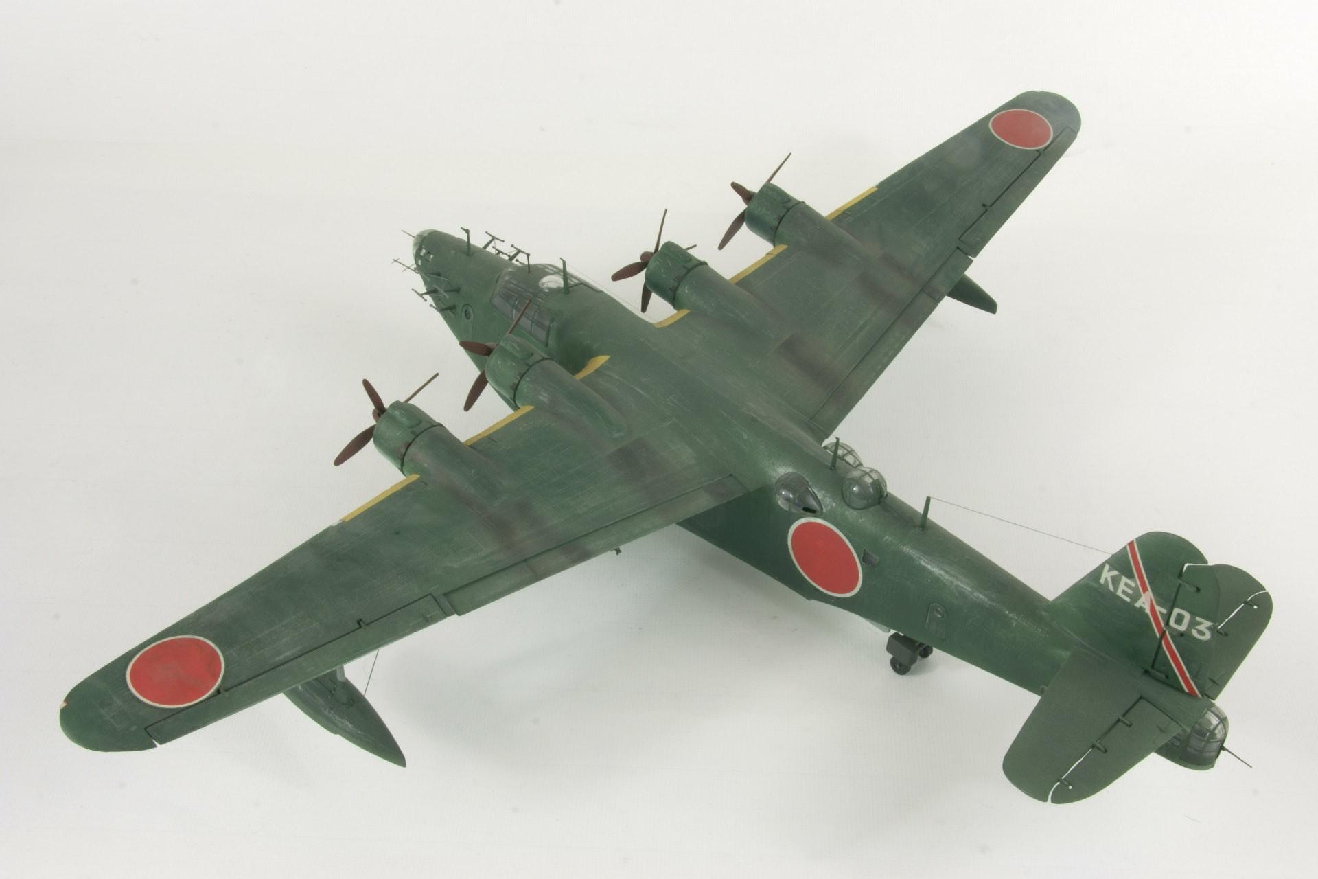 Kawanishi h8k2 model 2 2 emily 10