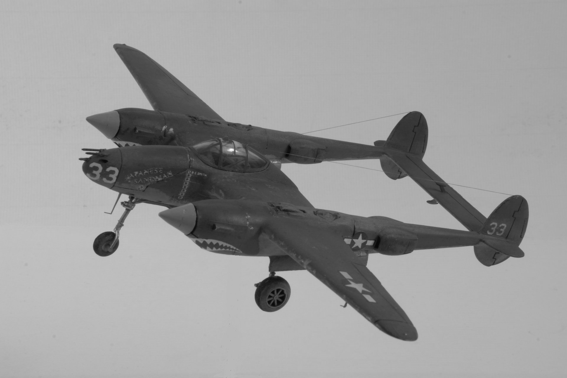 Lockheed p 38h lightning nb