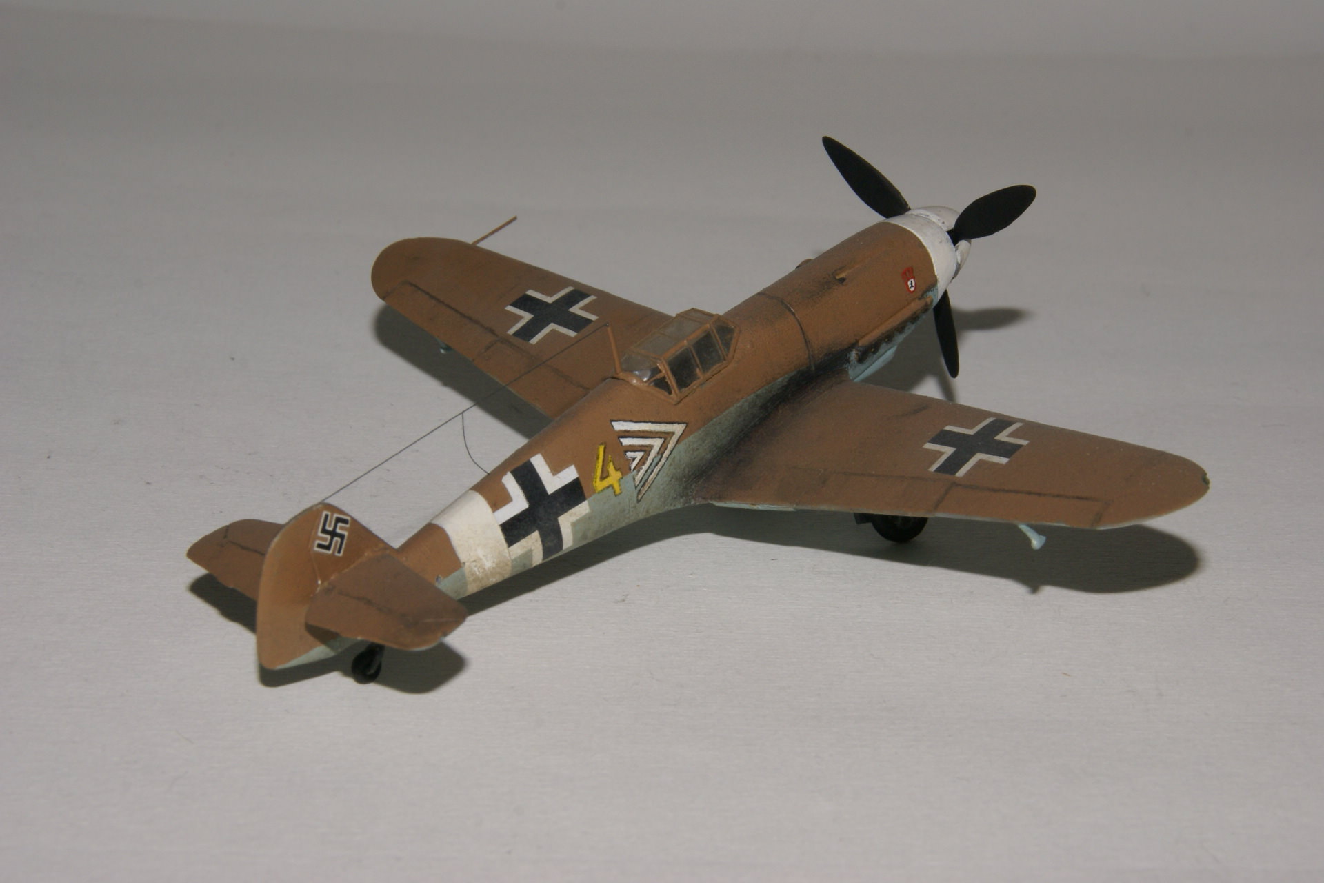 Messerschmitt 109g 4 trop 3