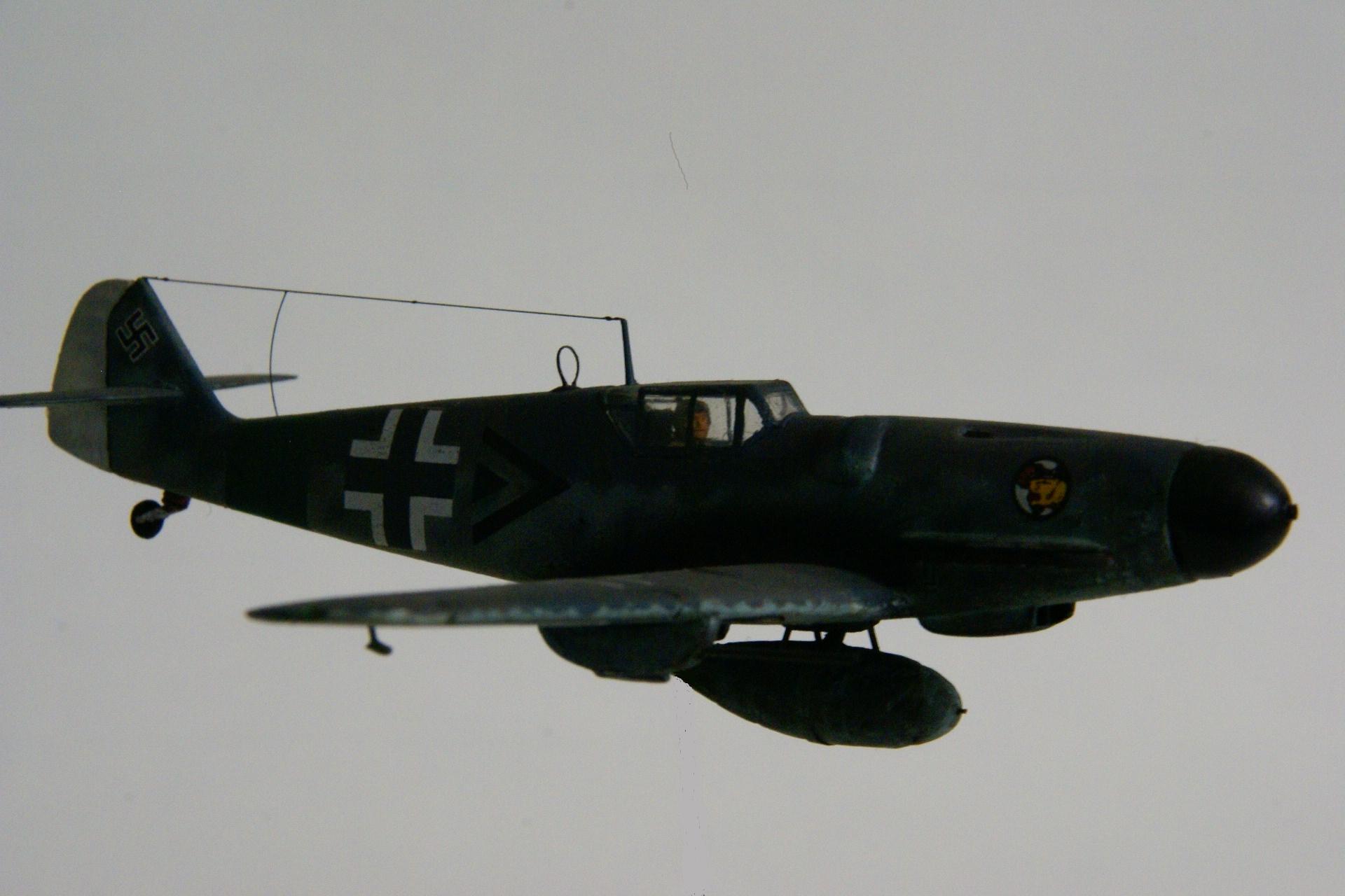 Messerschmitt 109g 6 r6 3