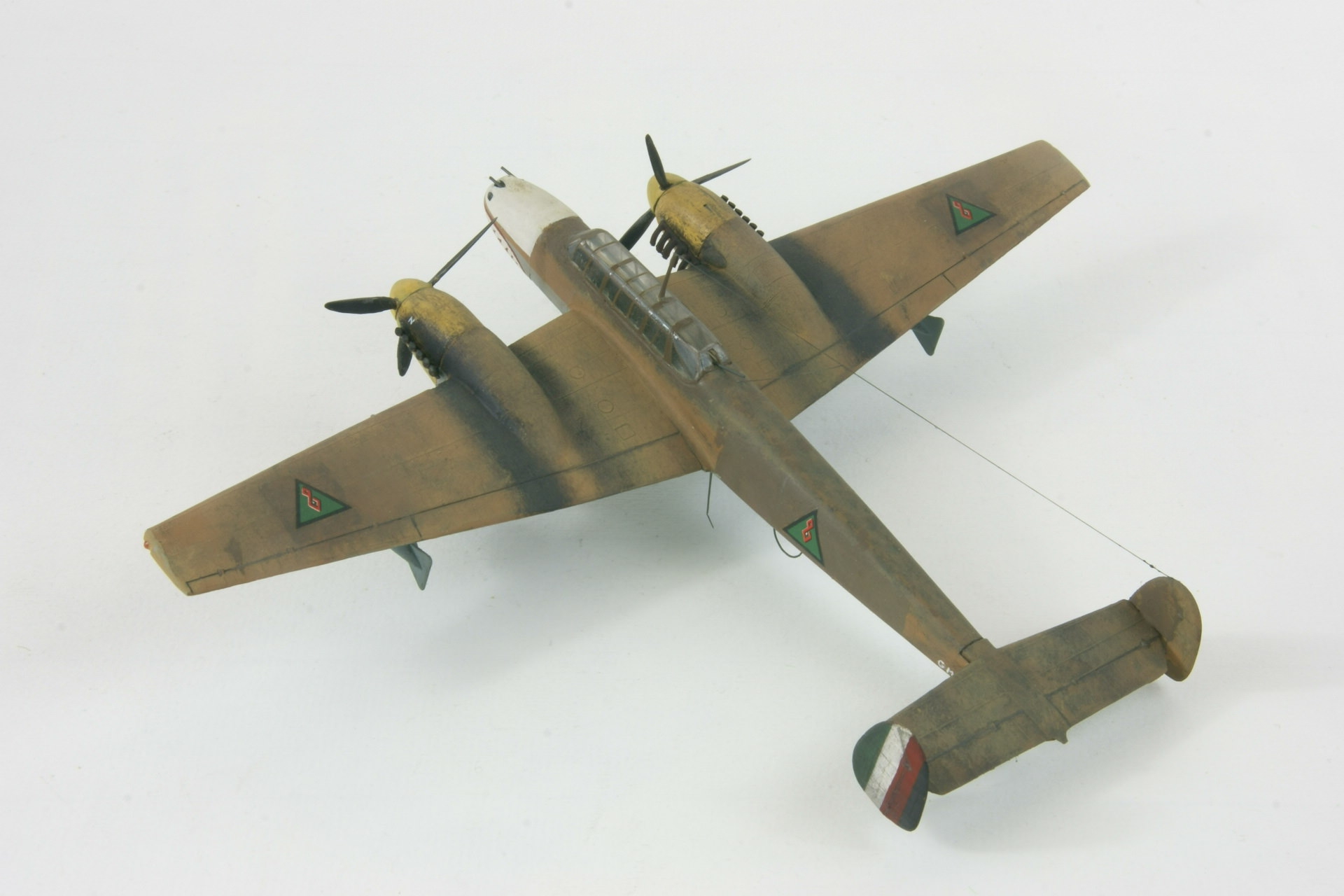 Messerschmitt 110d 3 2 1