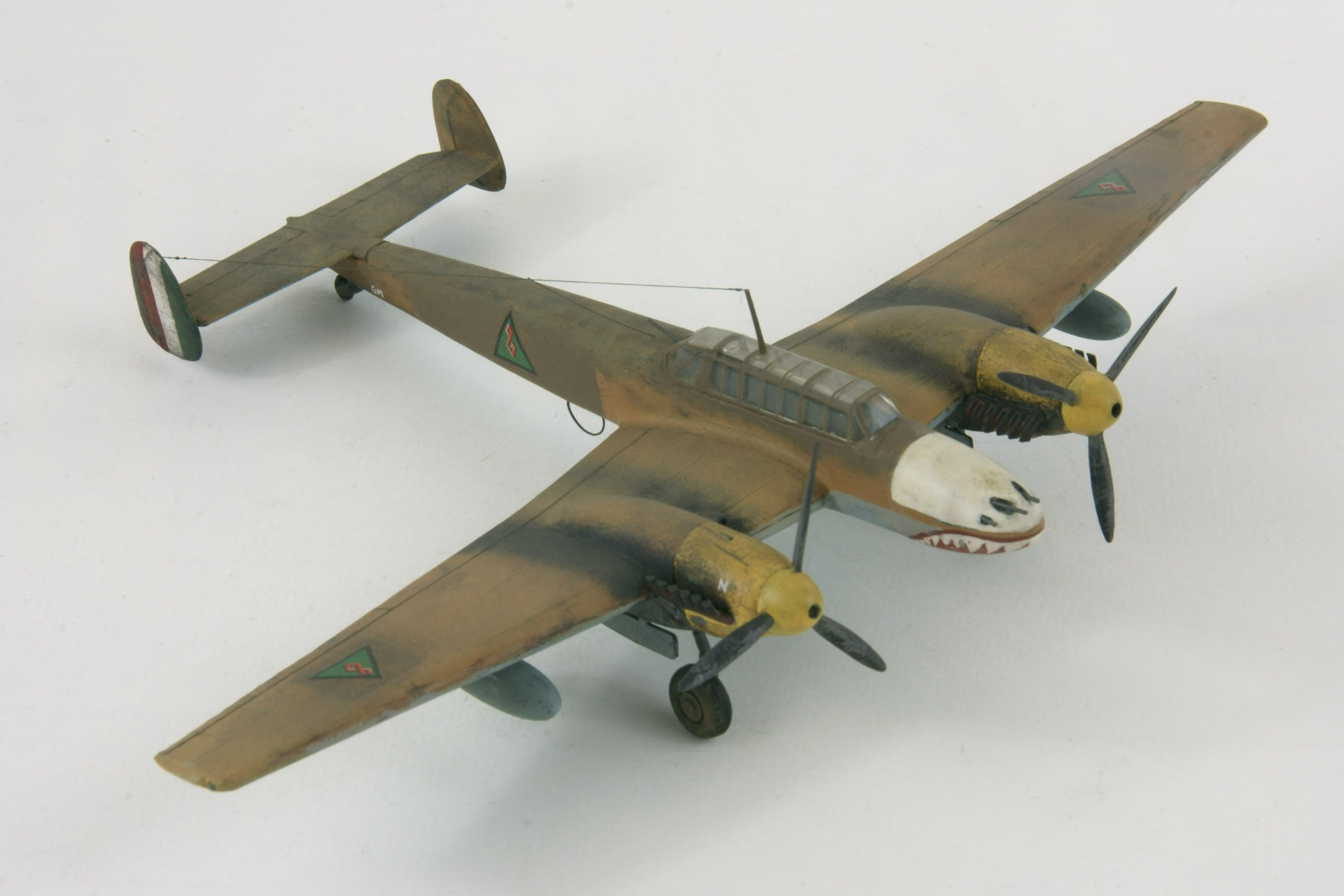 Messerschmitt 110d 3 4 1