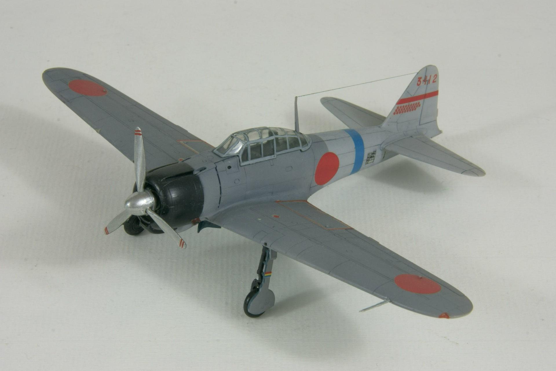 Mitsubishi a6m2 model 11 zero 1 1