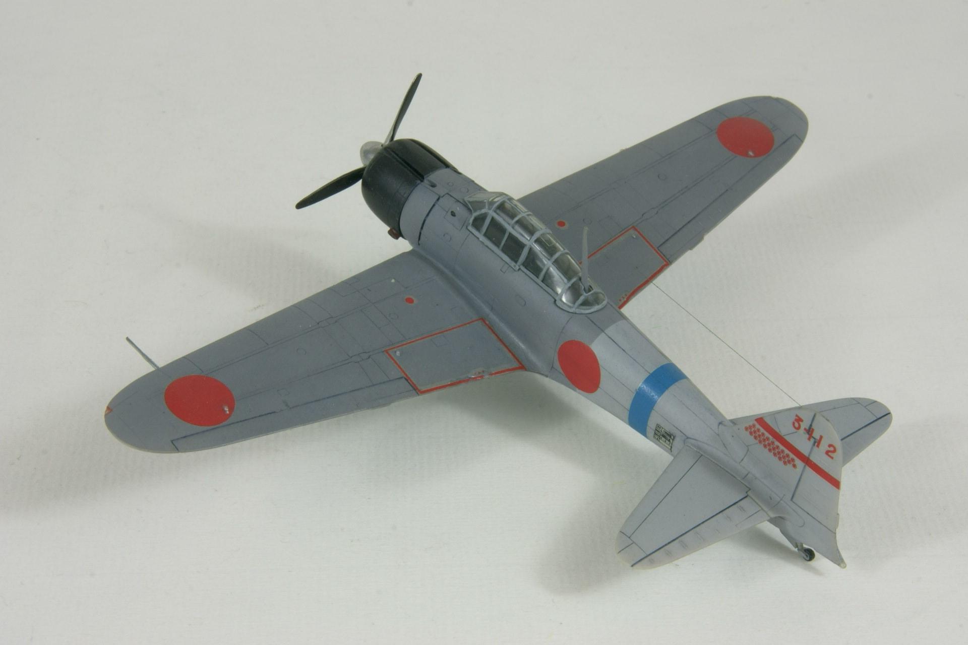 Mitsubishi a6m2 model 11 zero 2 1