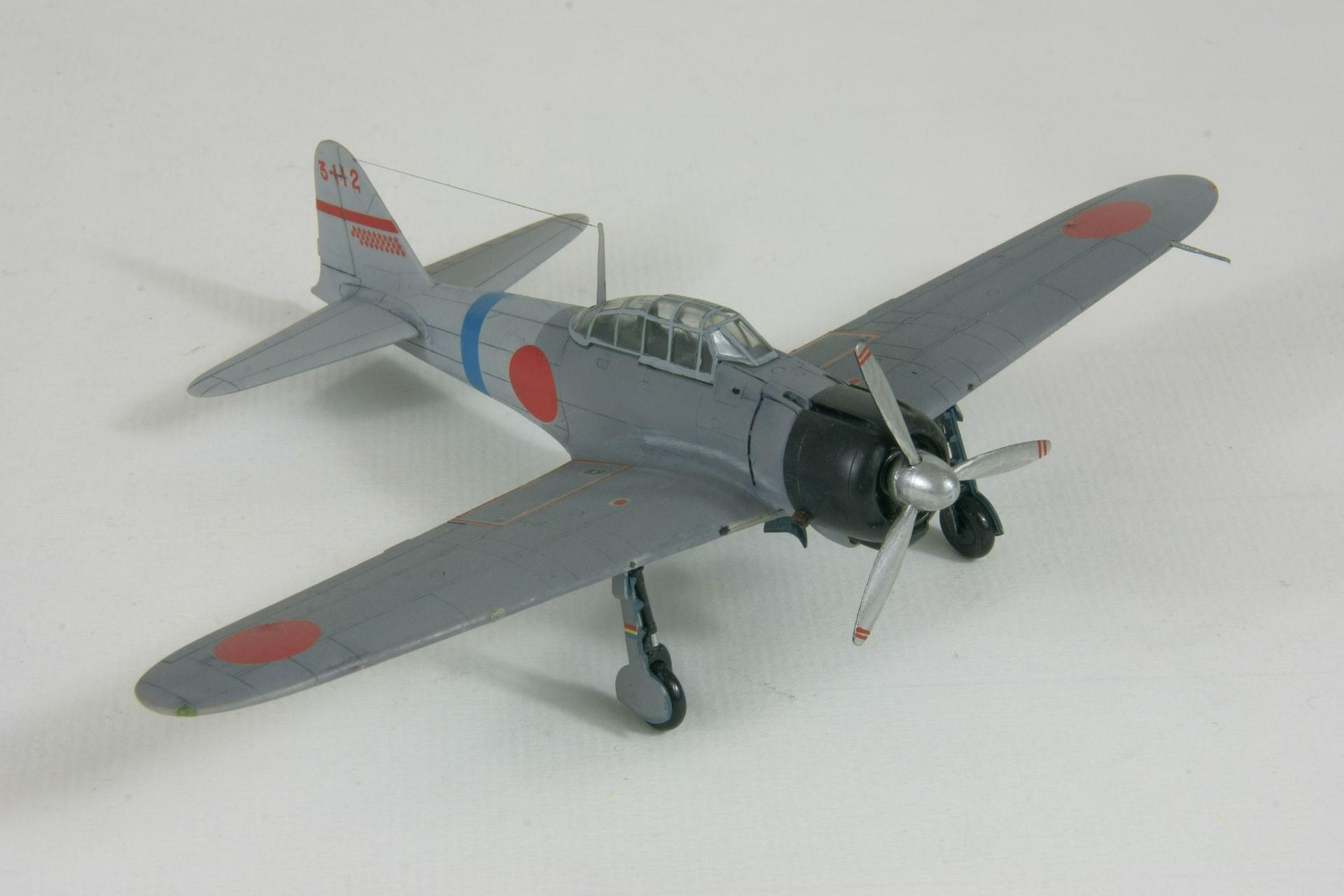 Mitsubishi a6m2 model 11 zero 4 1