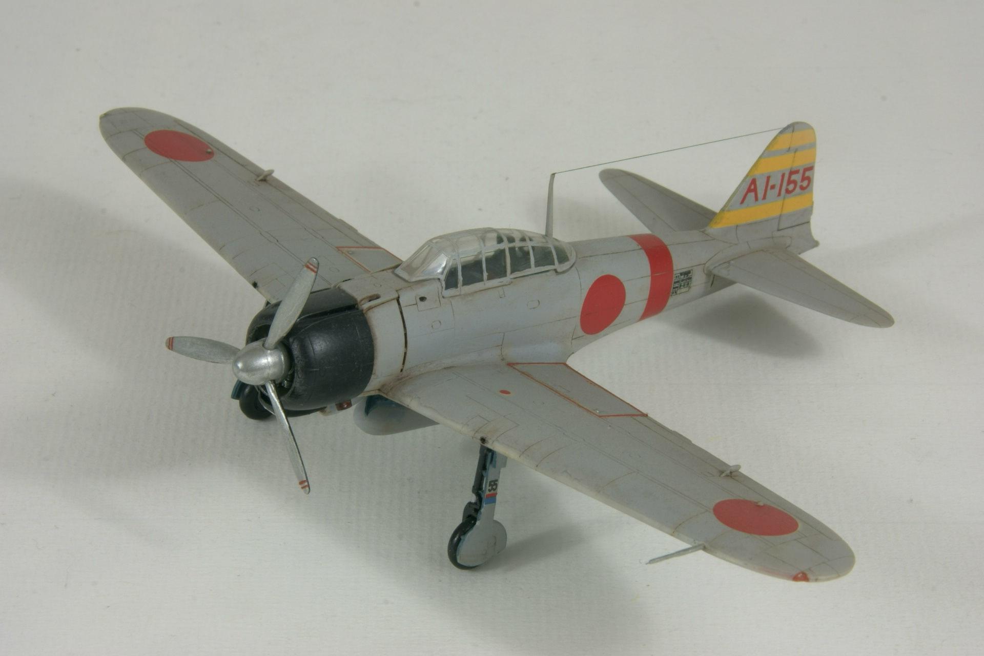 Mitsubishi a6m2 model 21 zero 1 1