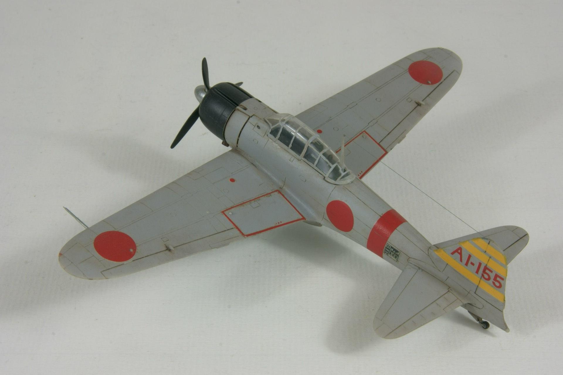 Mitsubishi a6m2 model 21 zero 2 1