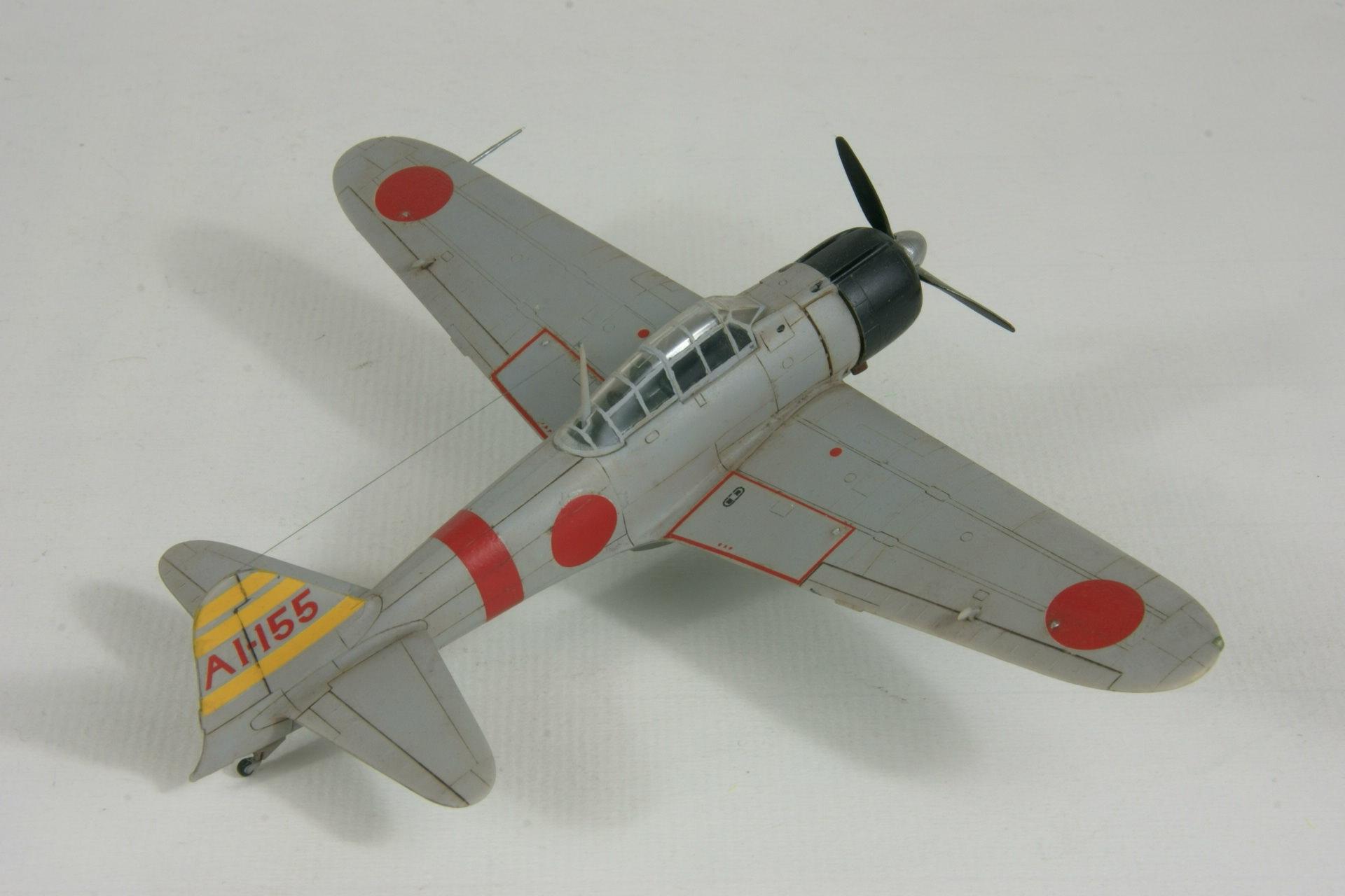 Mitsubishi a6m2 model 21 zero 3 1