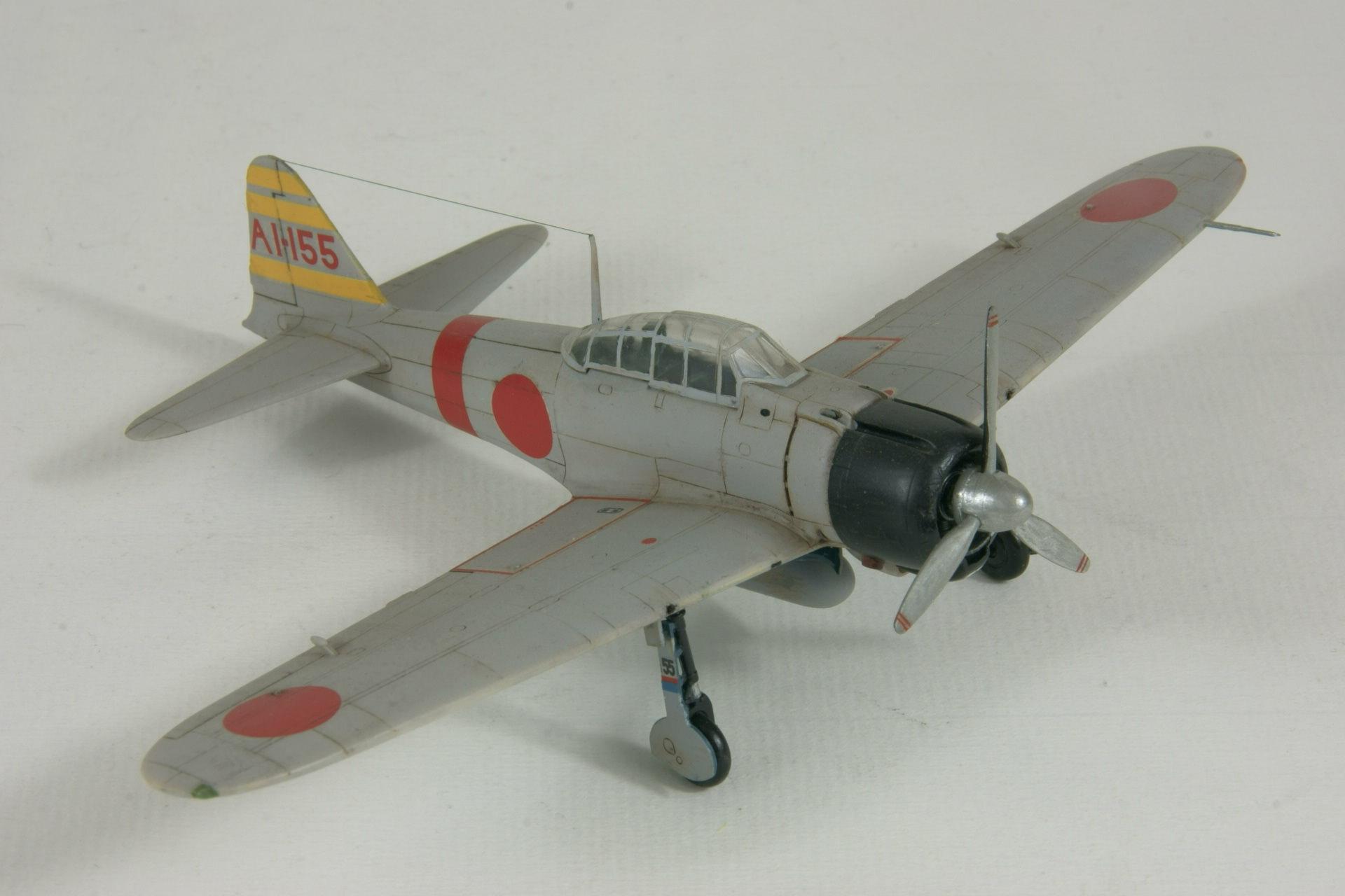 Mitsubishi a6m2 model 21 zero 4 1