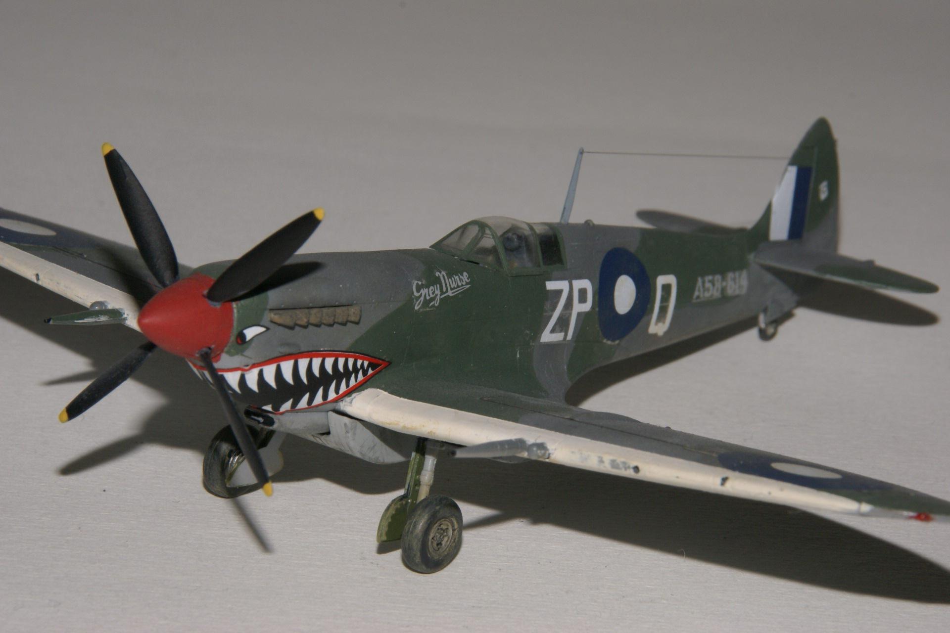 Supermarine spitfire viii 2