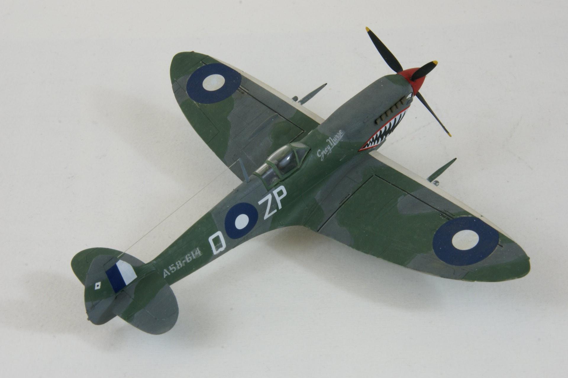 Supermarine spitfire viii 9 1